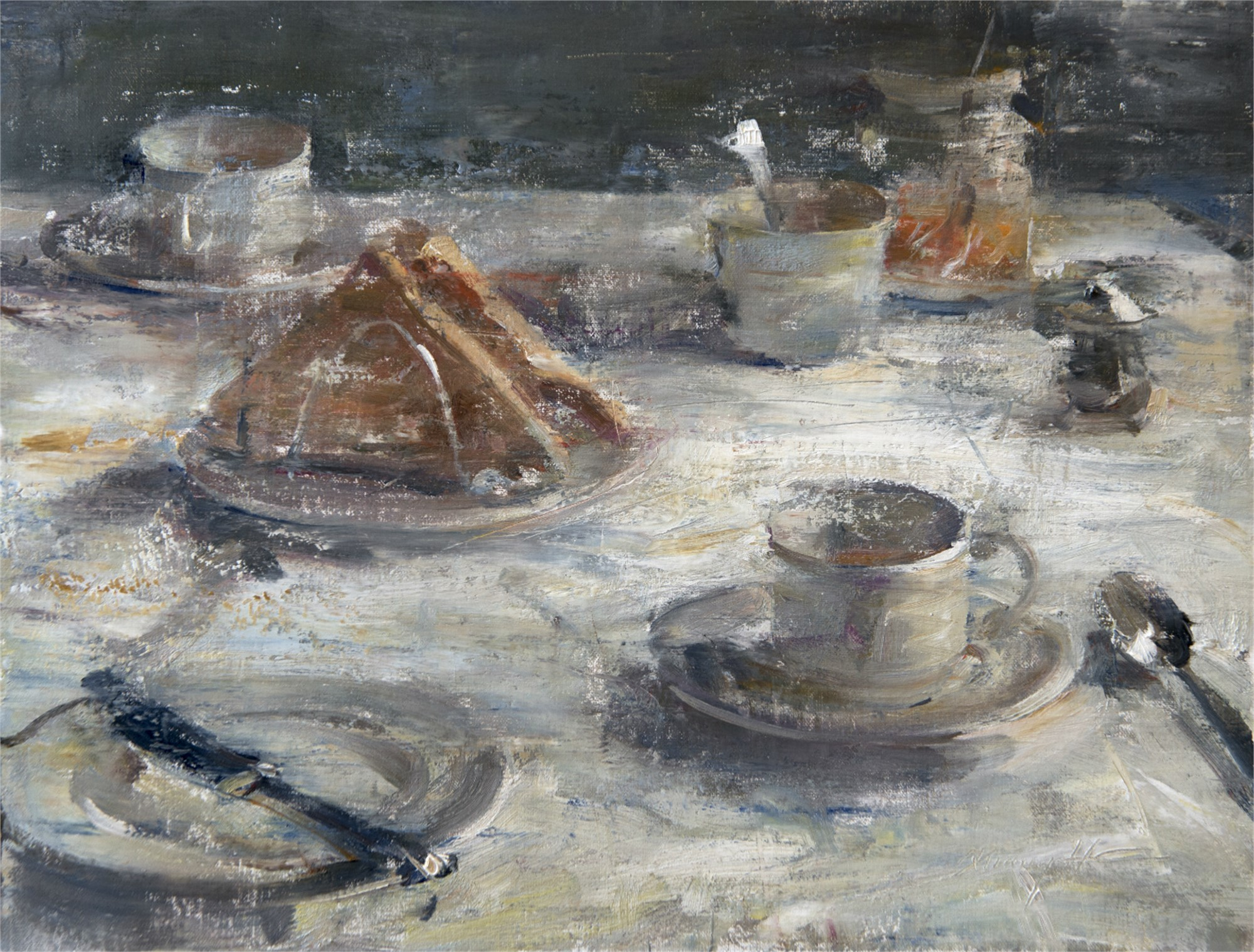 Toast, Jam, Coffee by Quang Ho