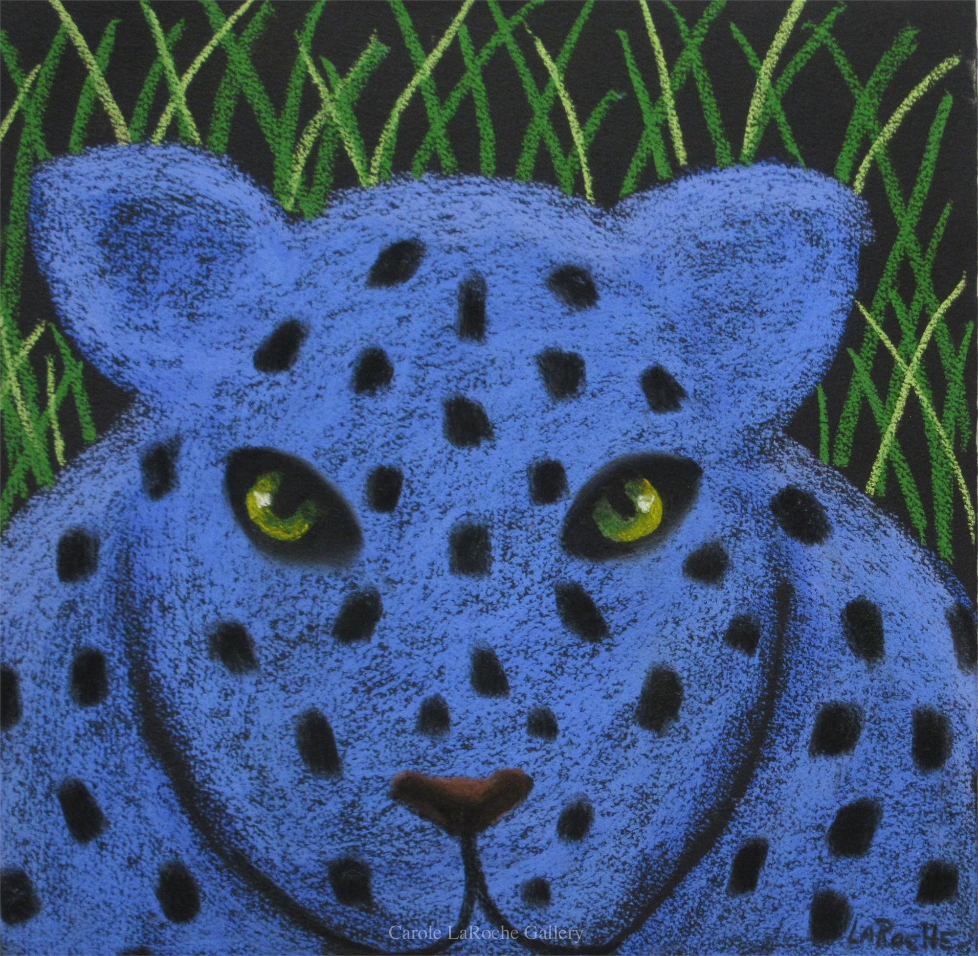BLUE LEOPARD by Carole LaRoche