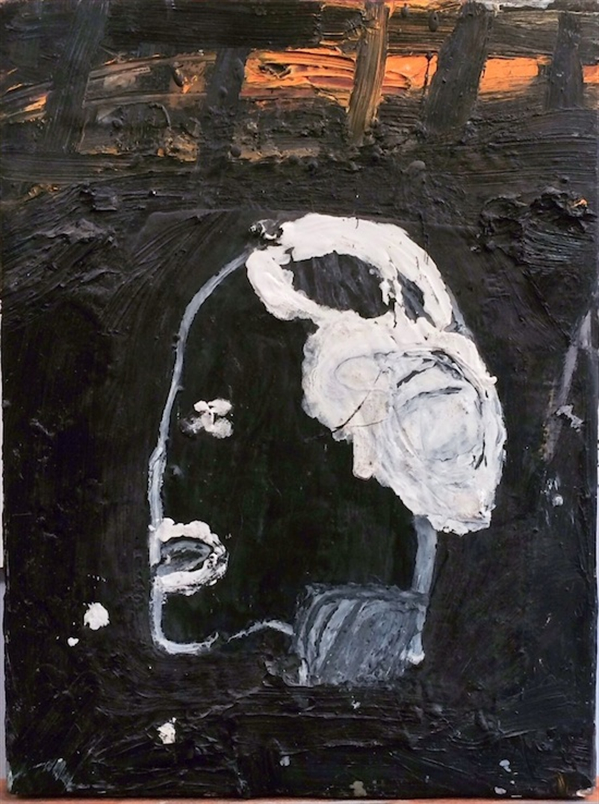 Head of an Old Black Man by James Havard