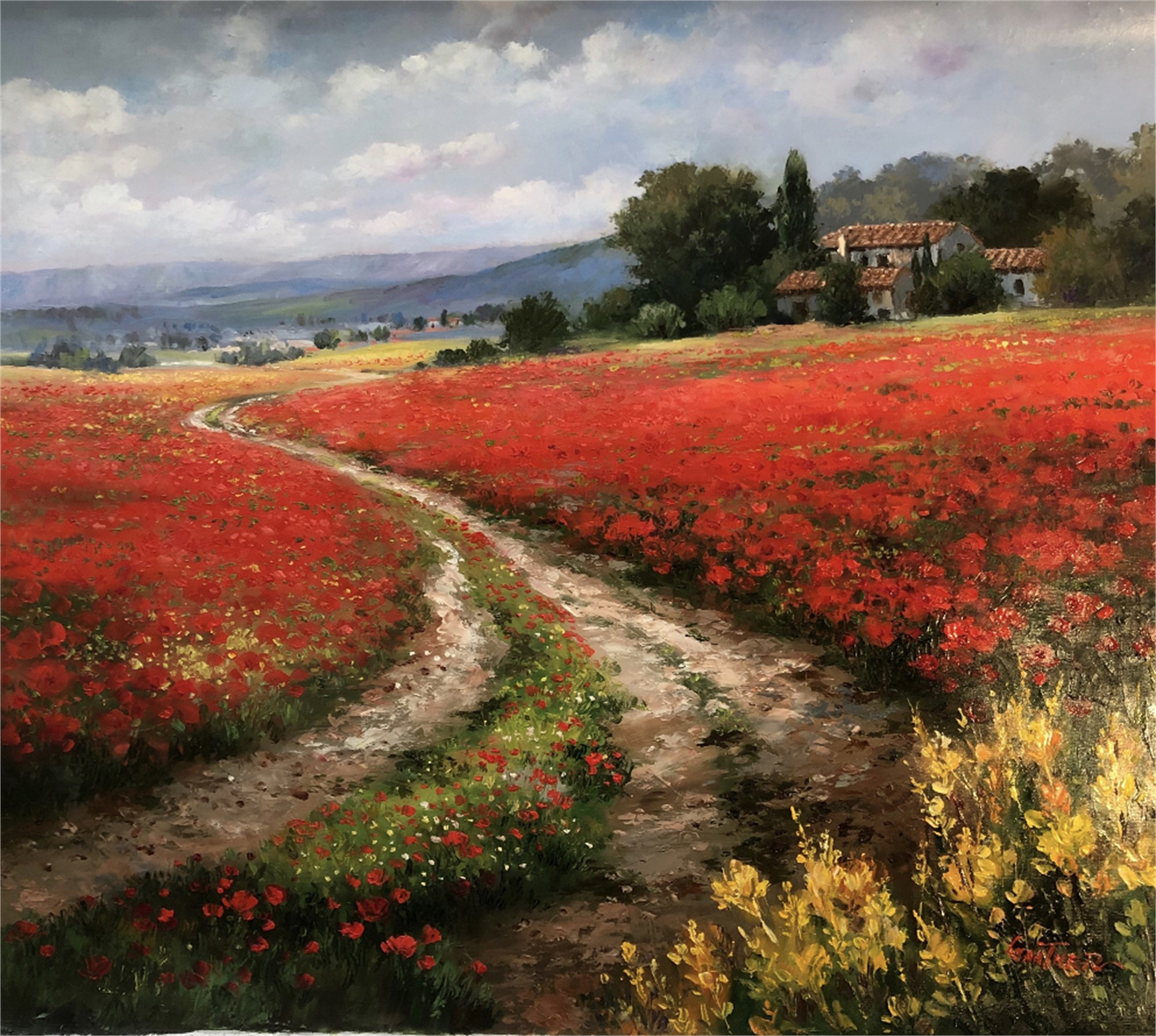 Fields of Tuscany by GANTNER