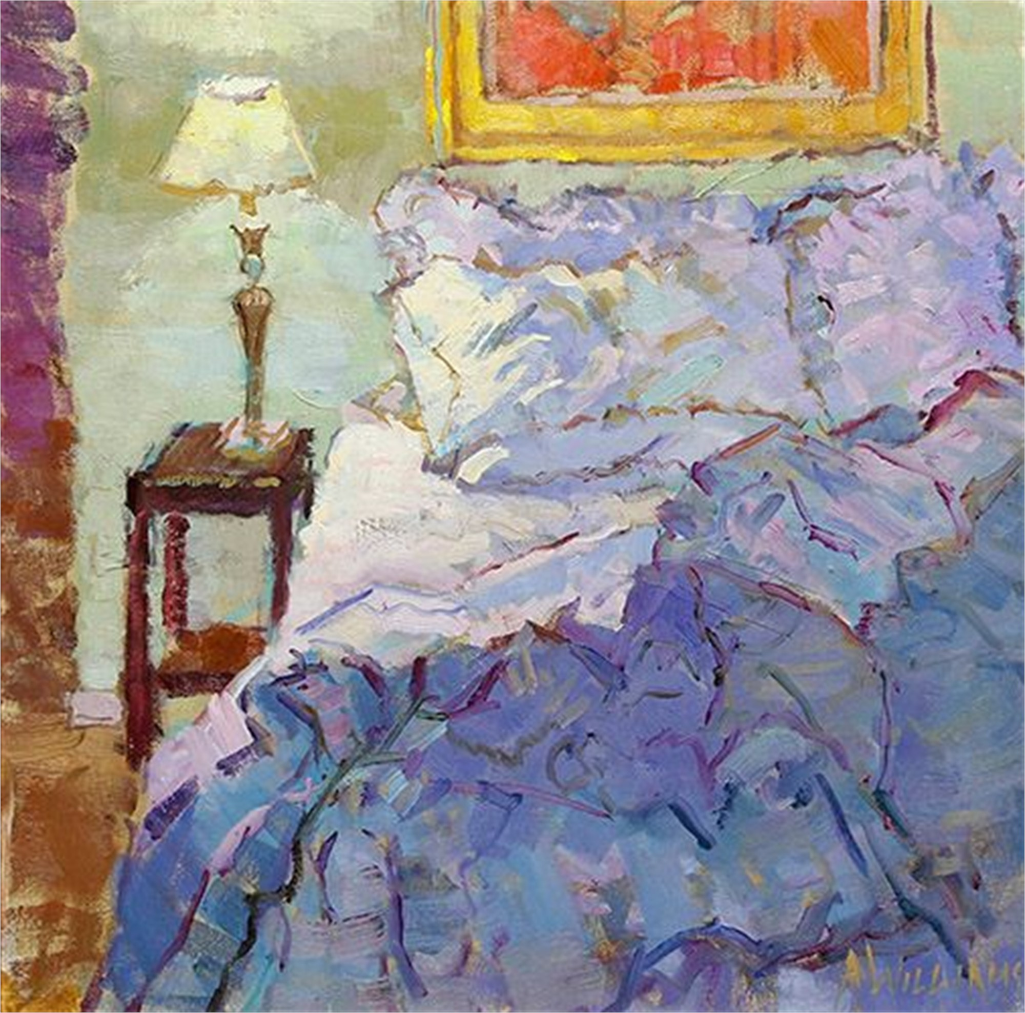 La Chambre Bleue I by Alice Williams