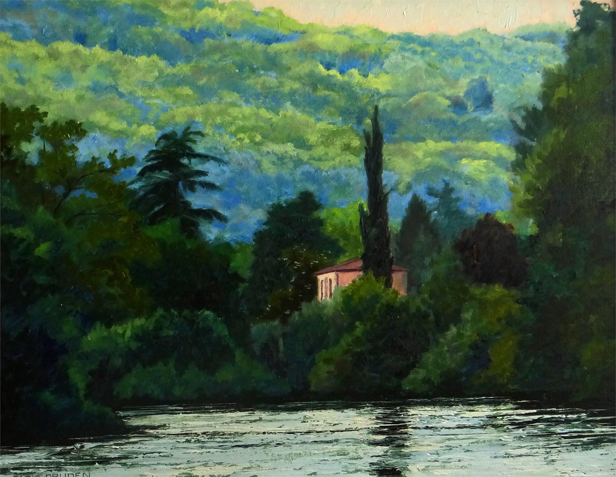 View Across The Lake by Nancy Paris Pruden