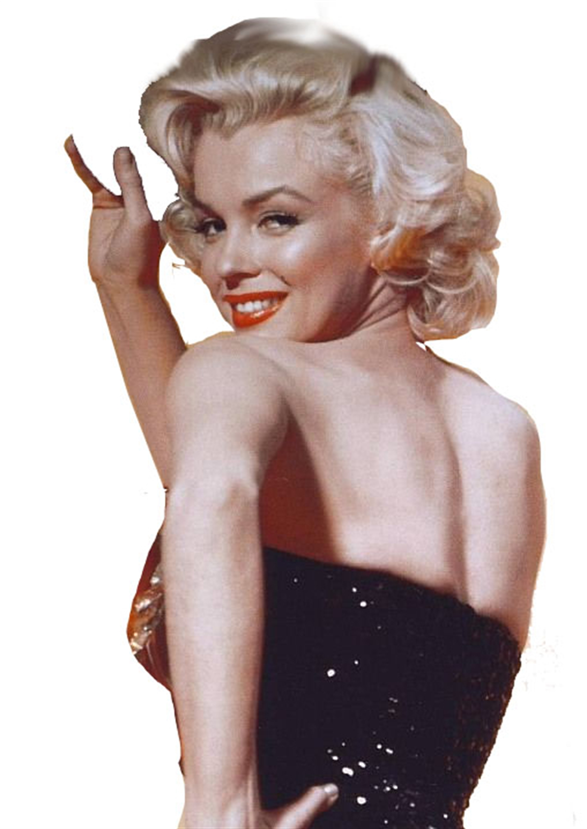 Marilyn Available as Commission - Size TBD by Bill Mack Hollywood Sign