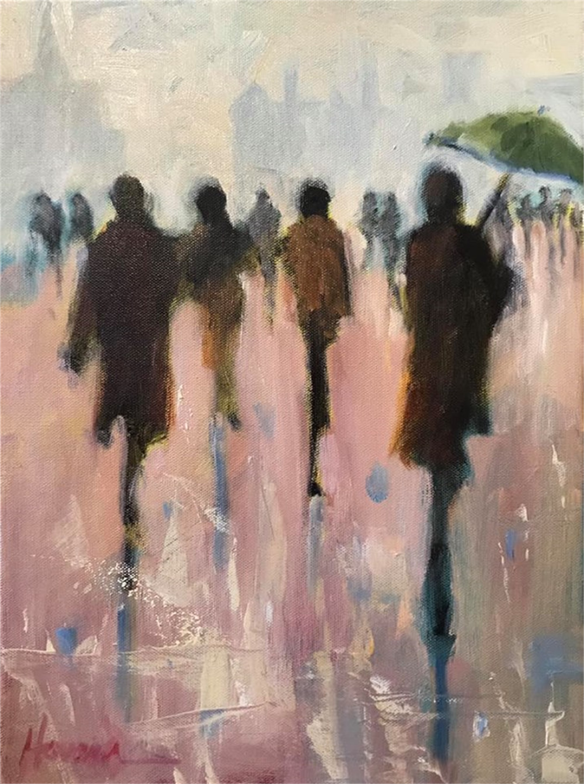 A Sprinkling Rain by Betsy Havens