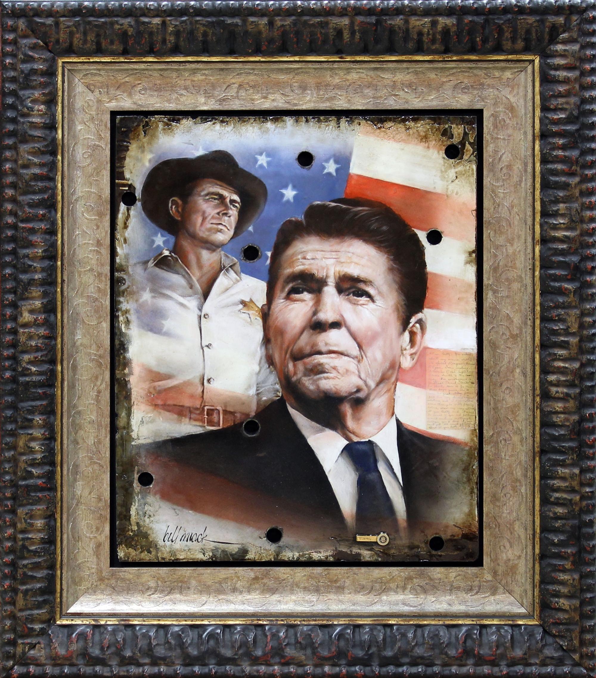 Reagan Career Metamorphasis by Bill Mack