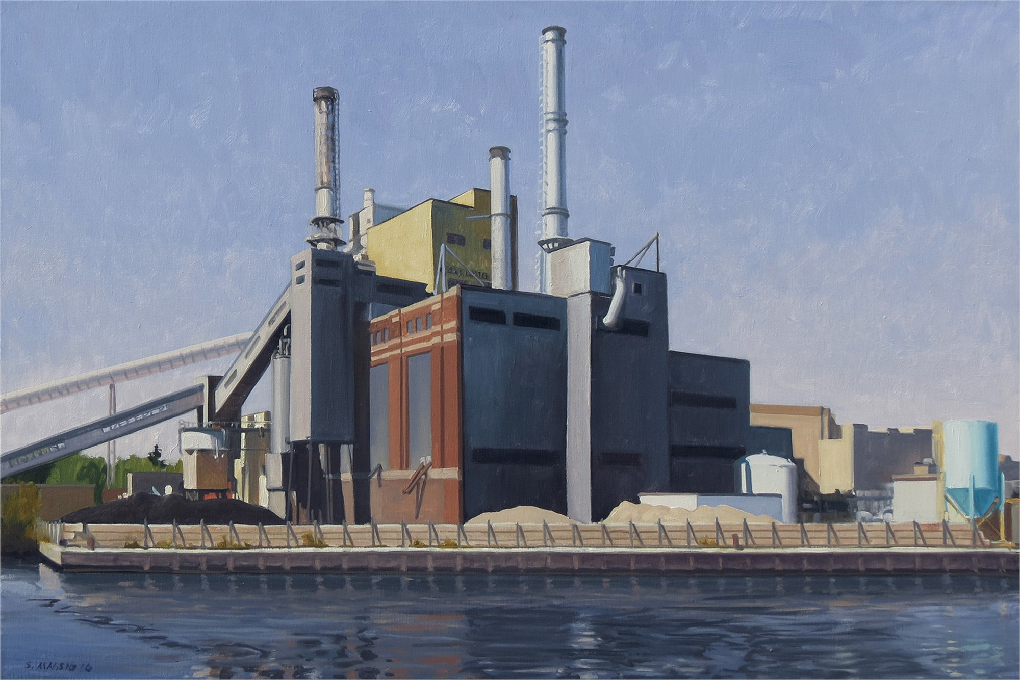 Downriver Power Plant by Stephen Magsig