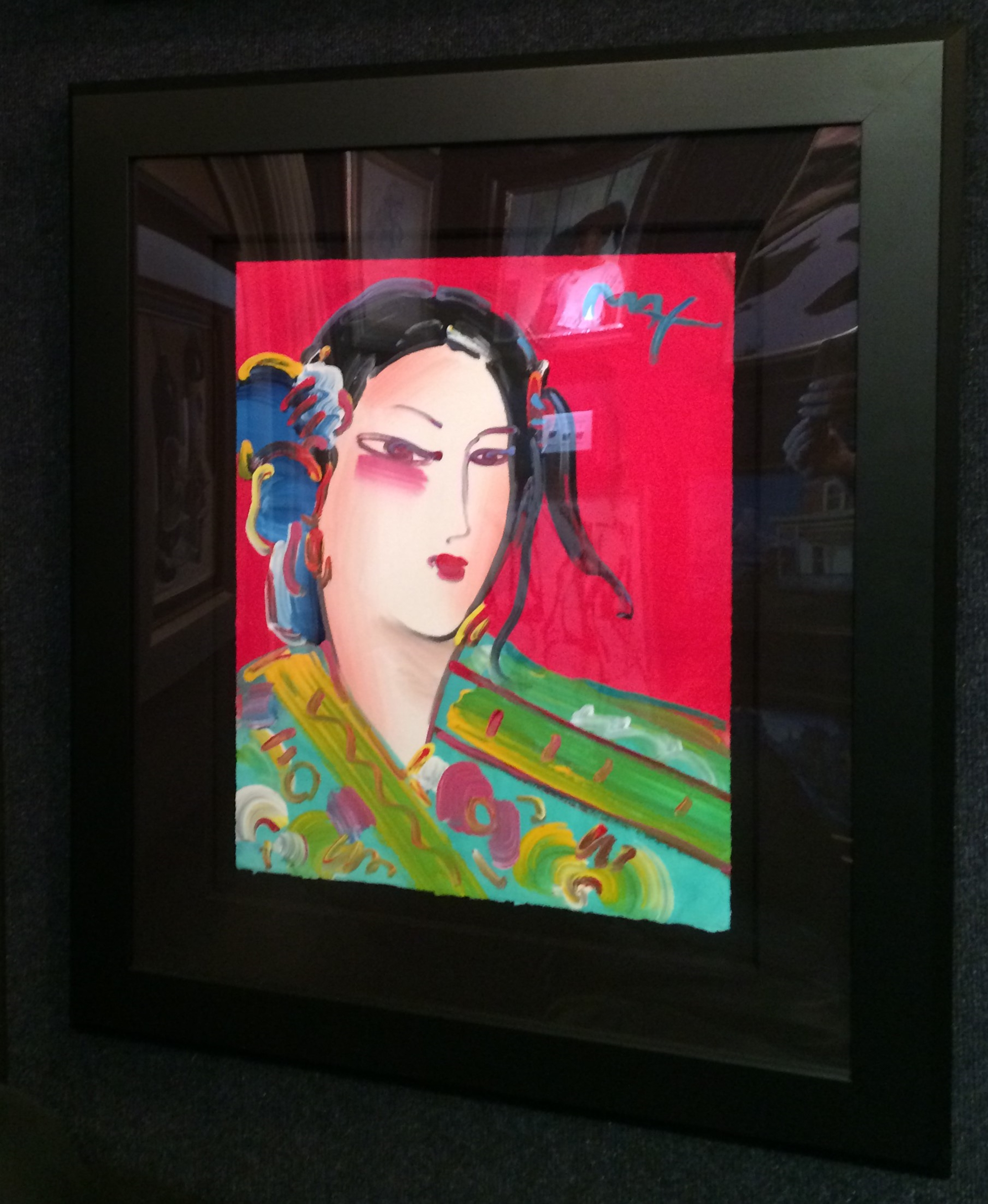 Asia - Available as Commission by Peter Max