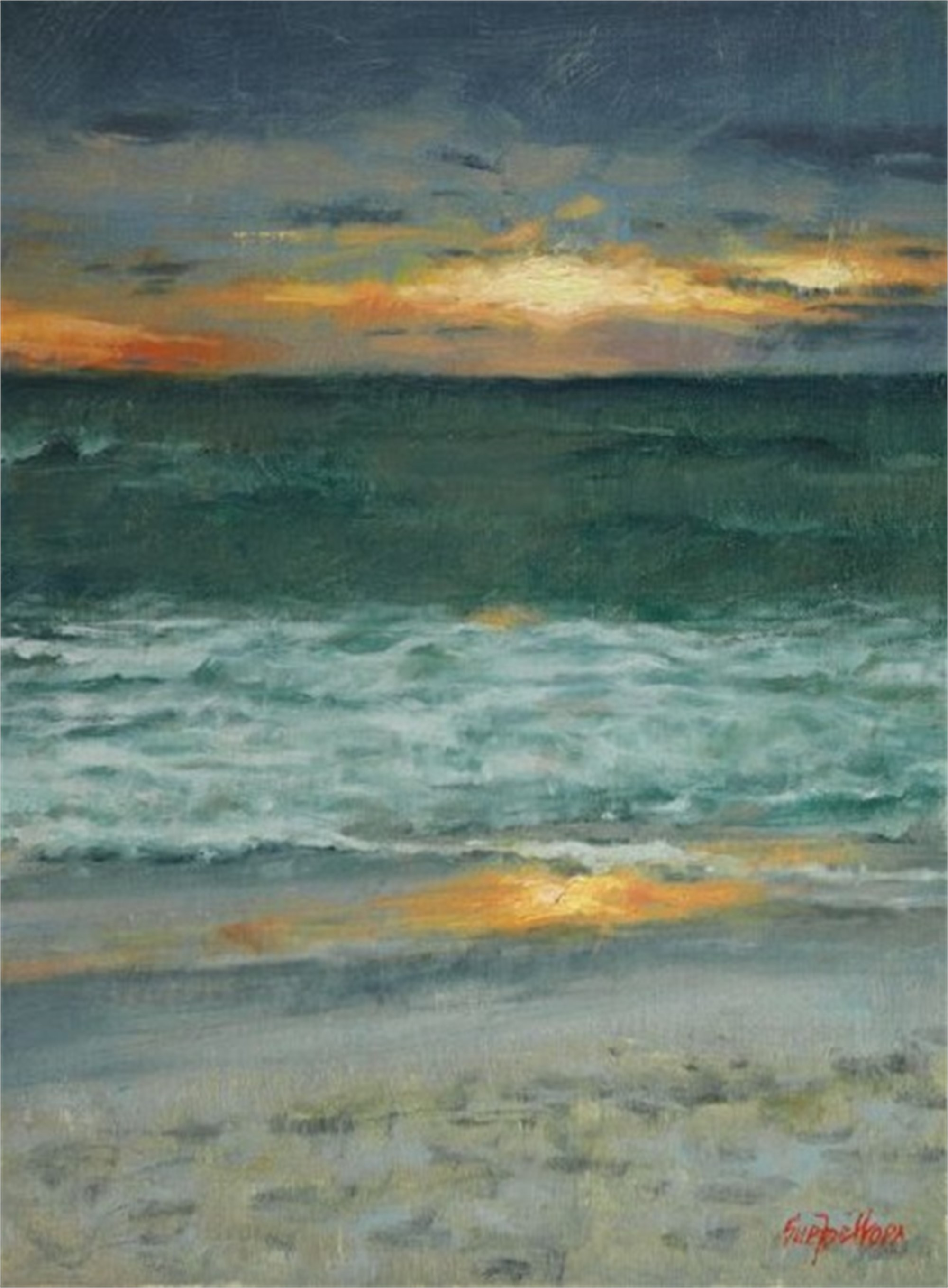 Anna Maria Sunset by Sue Foell, OPA