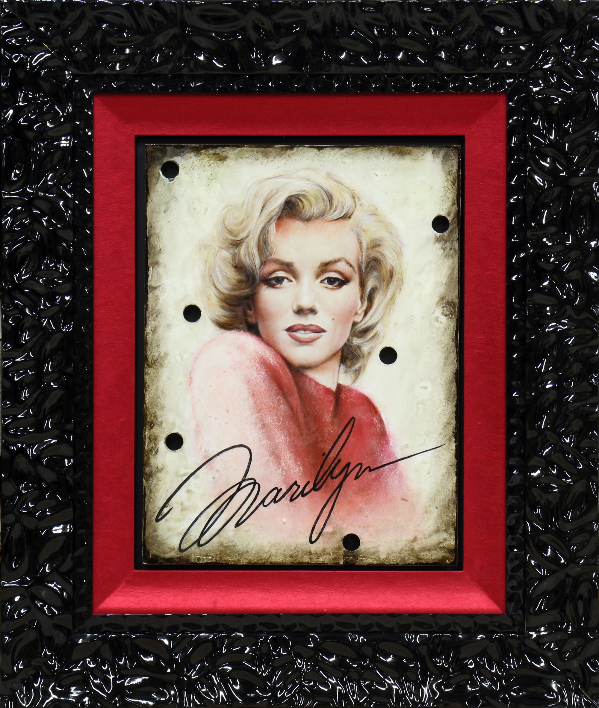 Marilyn Rose Sweater by Bill Mack Hollywood Sign