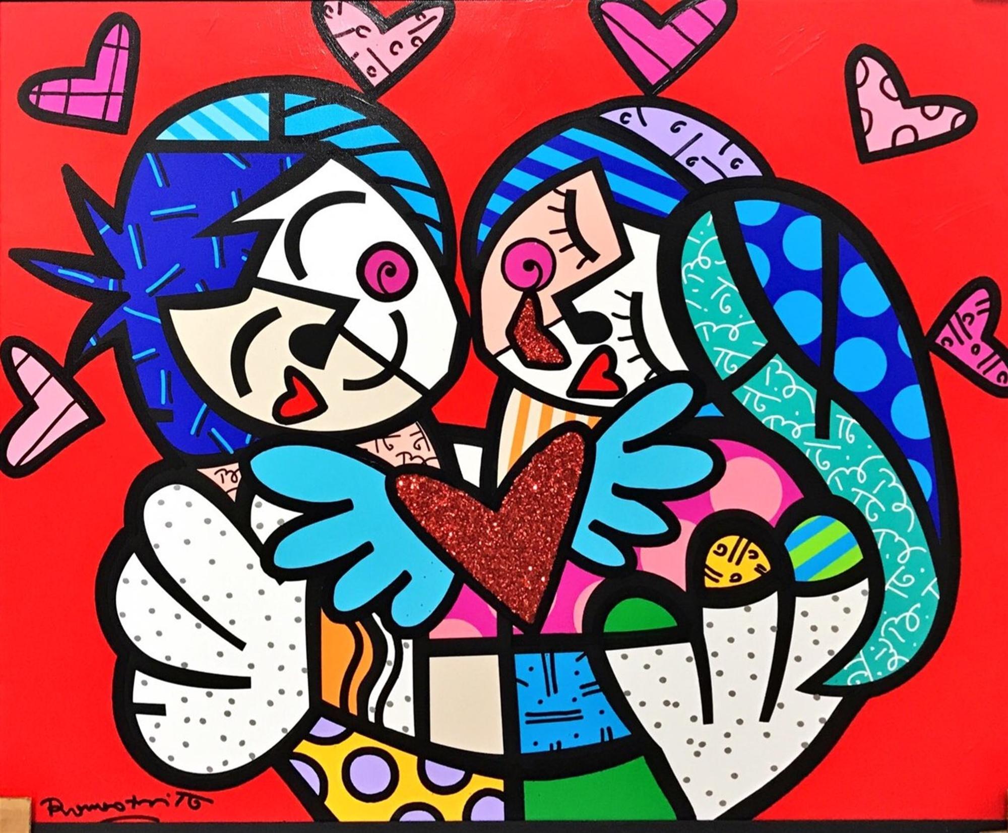 Hugs & Kisses by Romero Britto