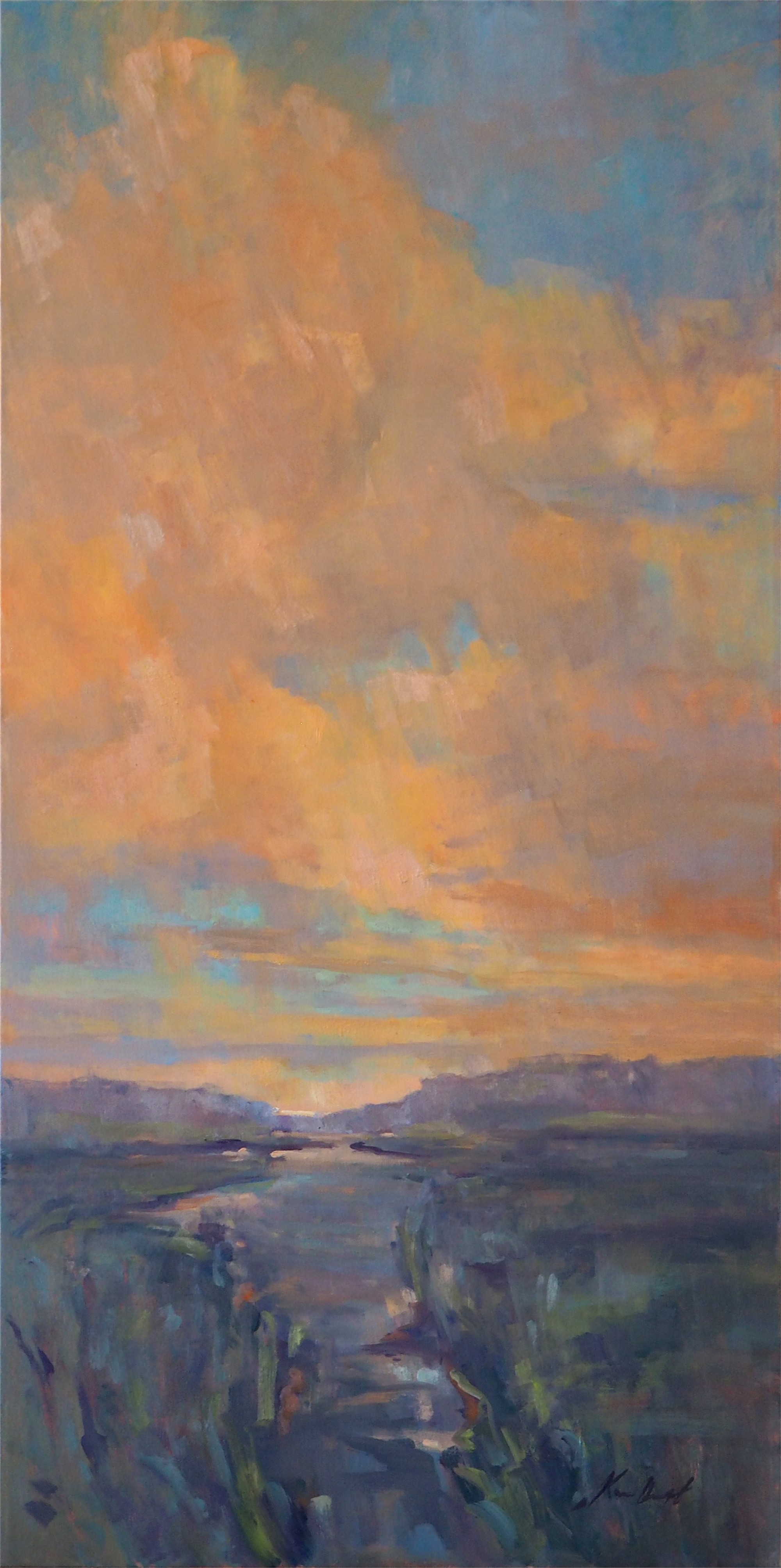 Summer Cloud Show by Karen Hewitt Hagan