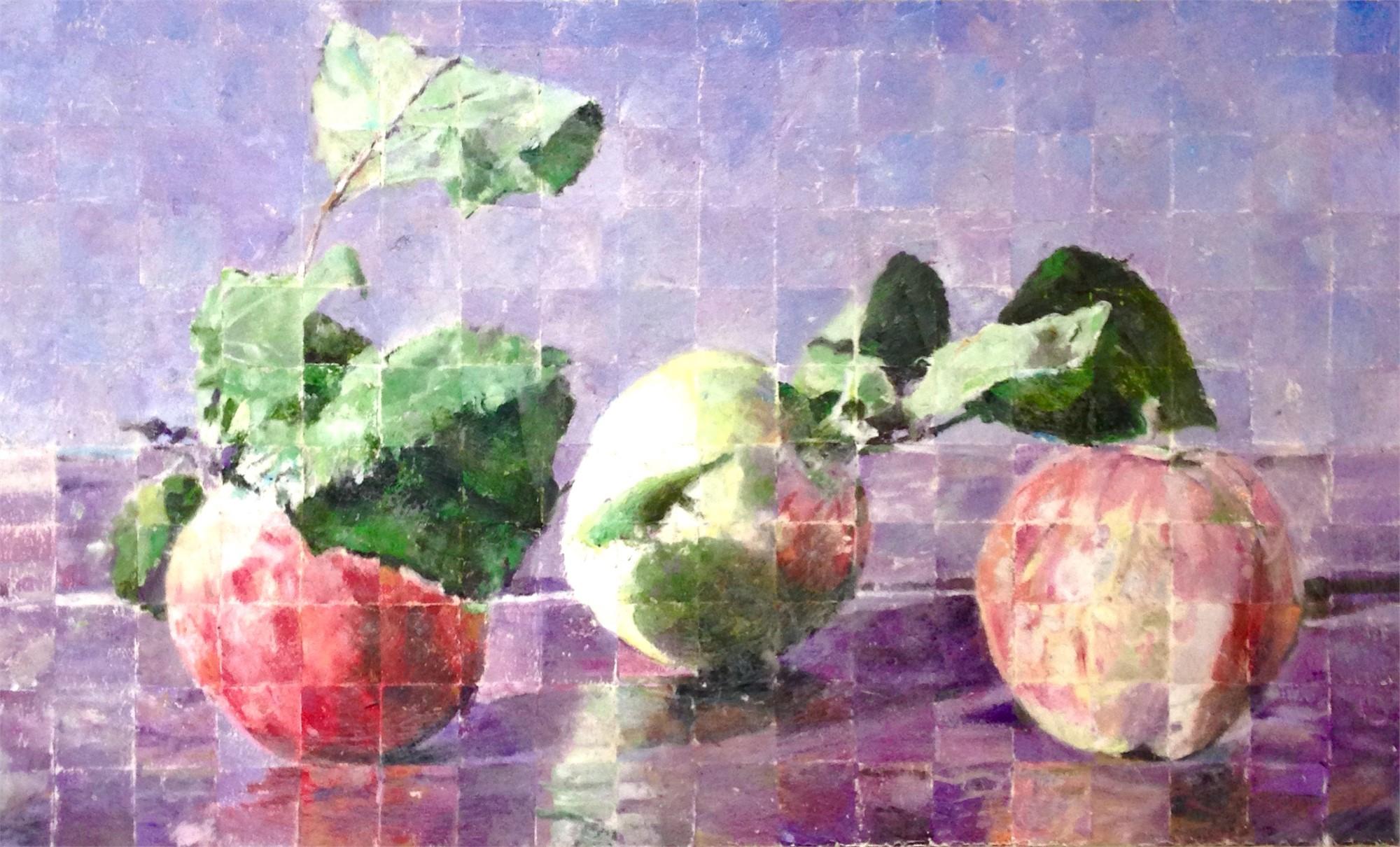 3 Apples by Mark Gaskin