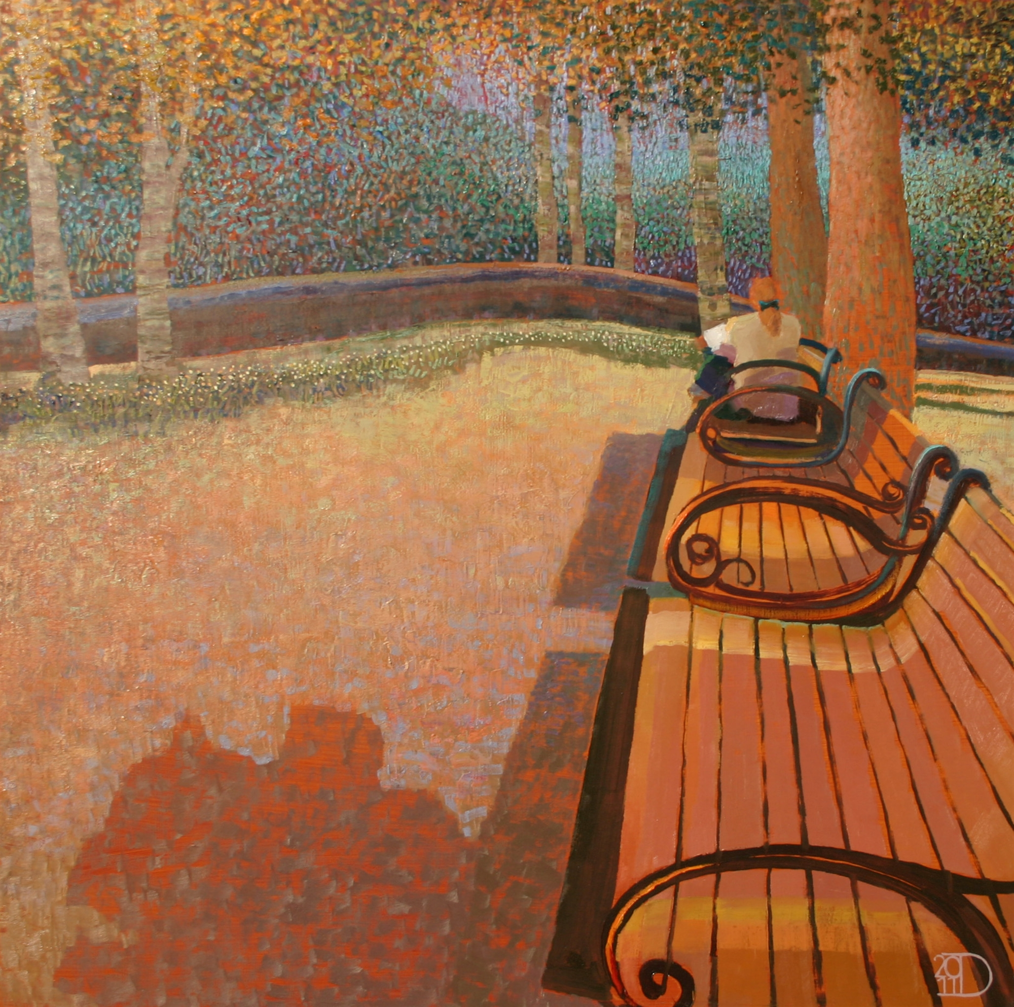 Afternoon in the Park by Ton Dubbeldam
