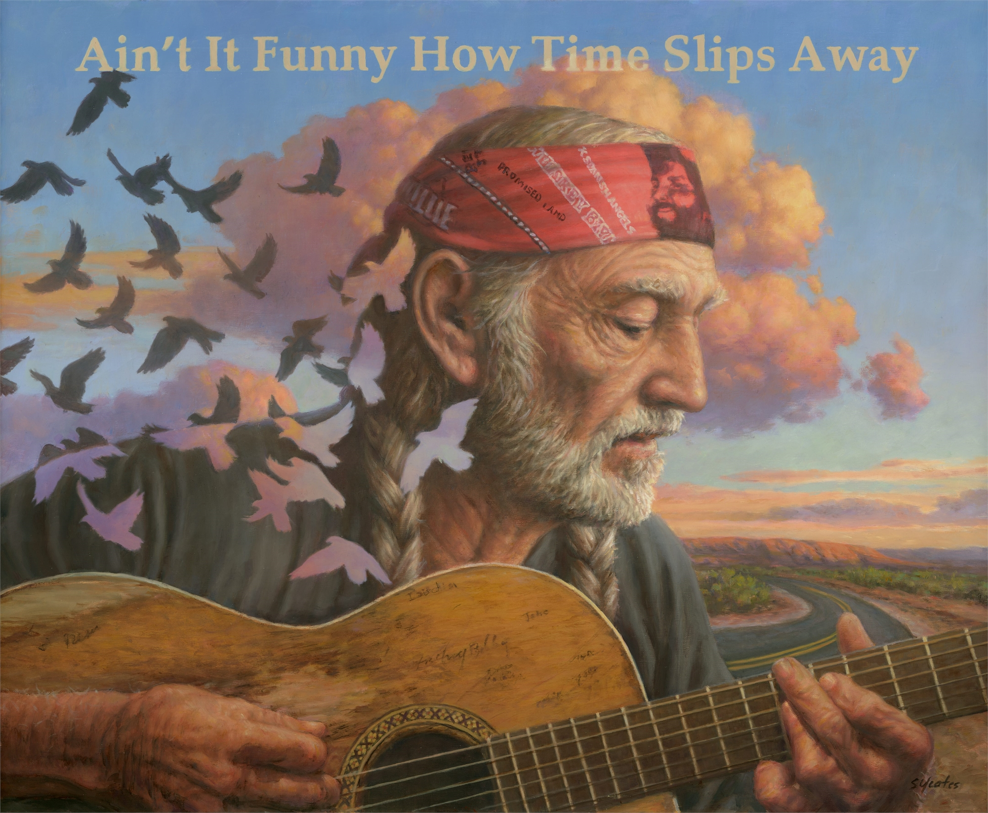 Ain't It Funny How Time Slips Away by Sam Yeates