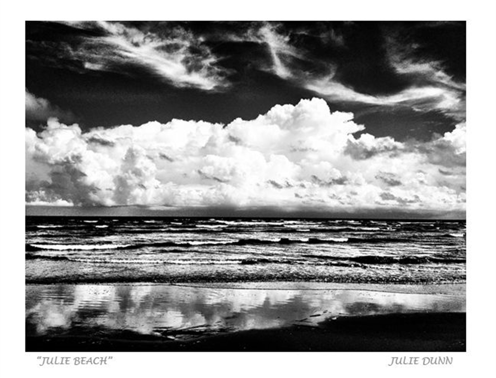 Julie Beach by Julie Dunn