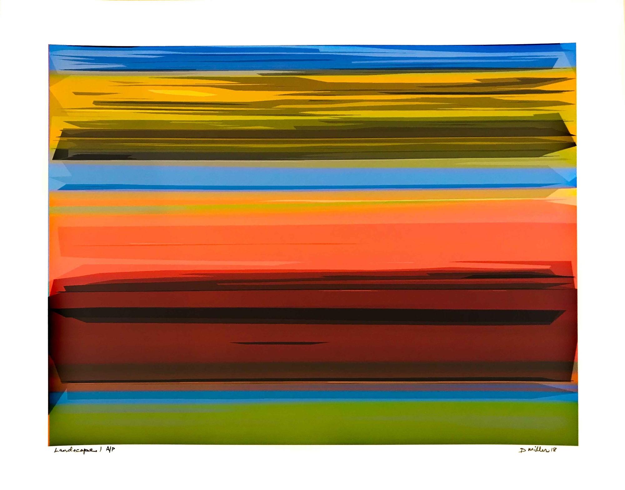 Landscape by David Miller
