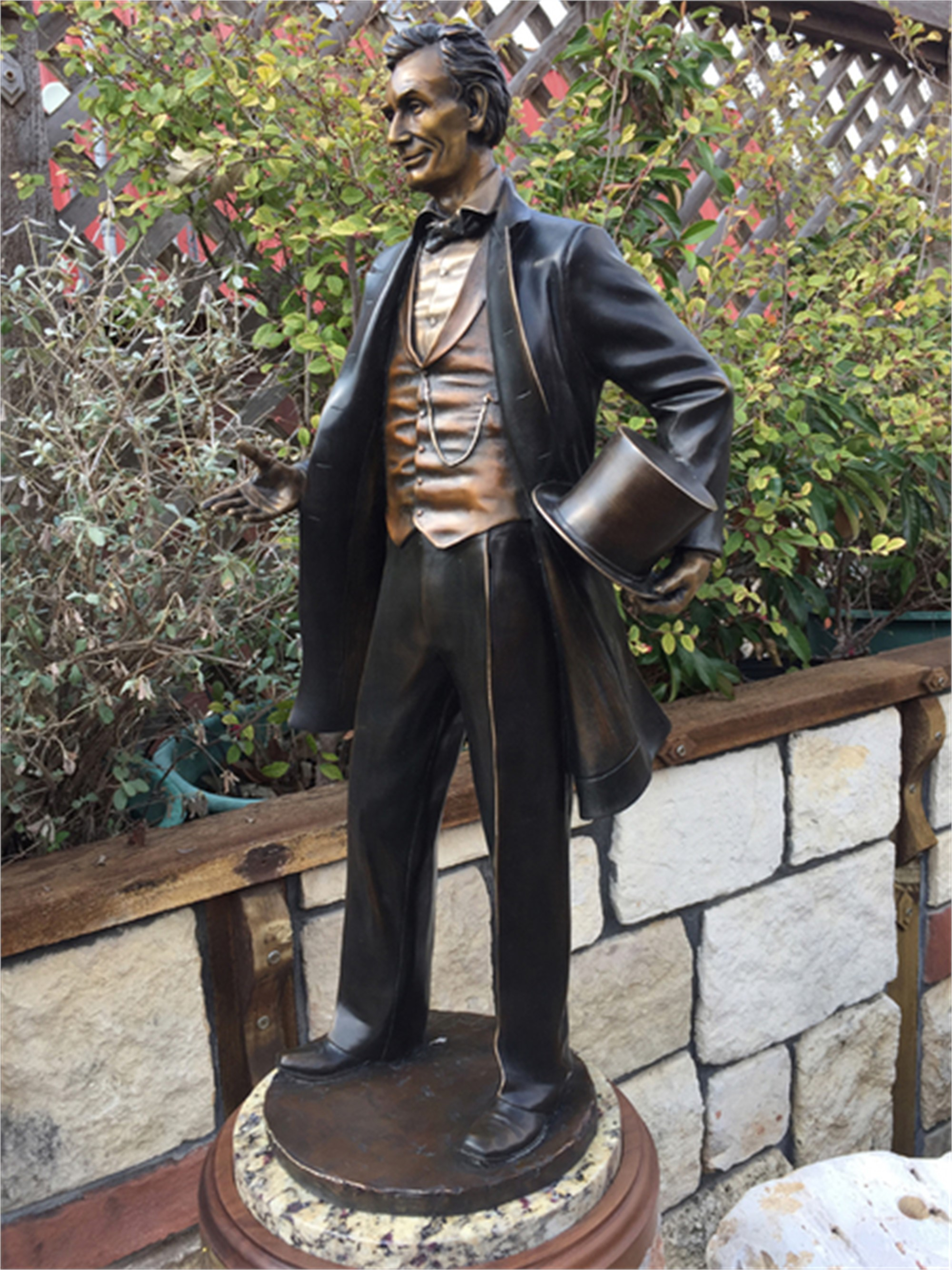 Young Lawyer, Abraham Lincoln by George Lundeen