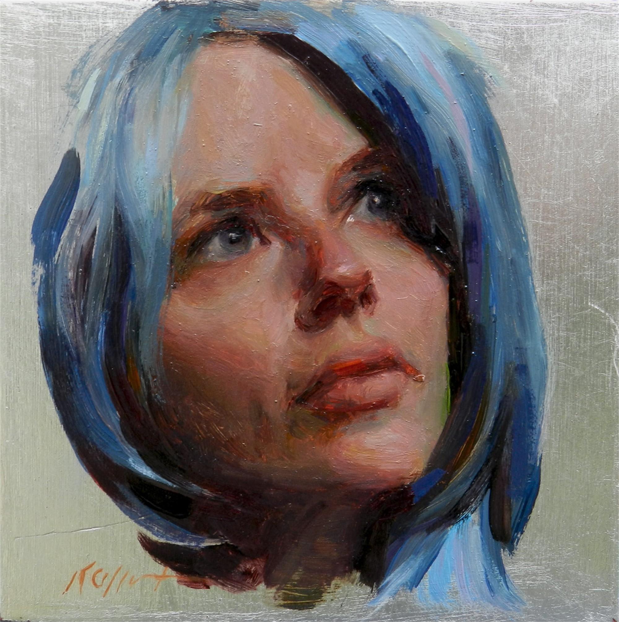 Rebecca in Blue by Karen Offutt