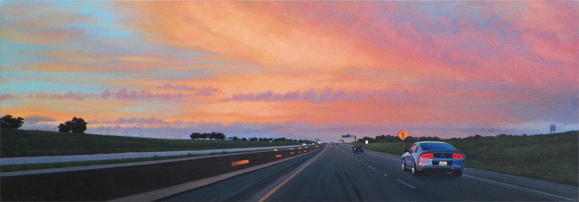 Texas Highway I-35N by Pat Gabriel