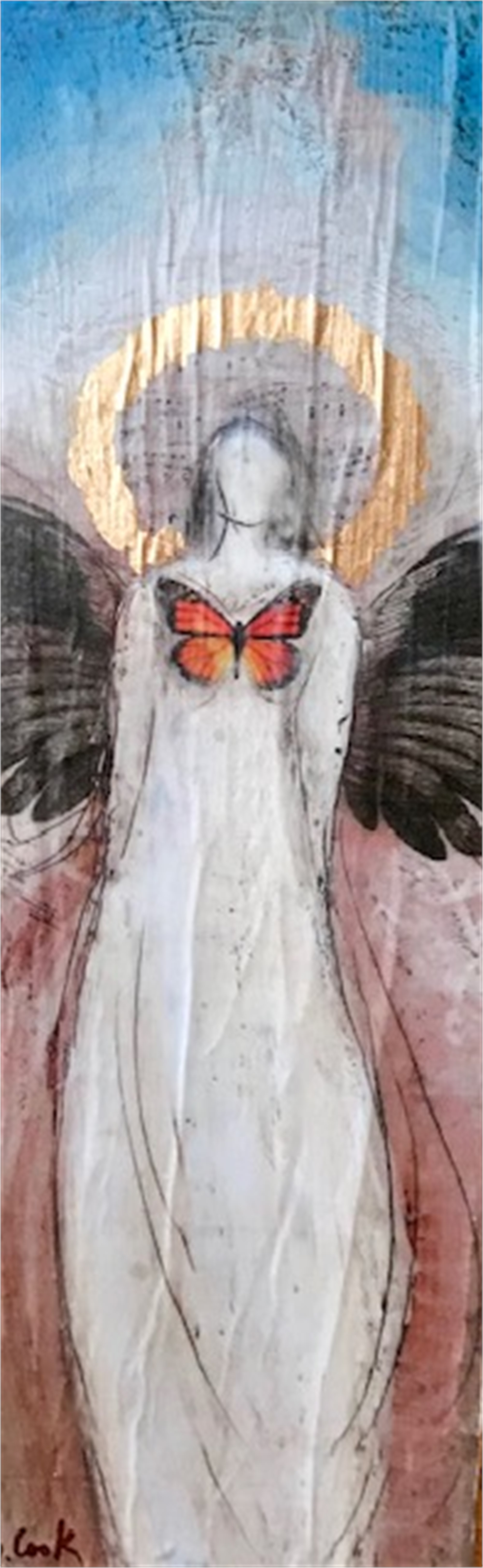 Monarch Angel by Sherry Cook