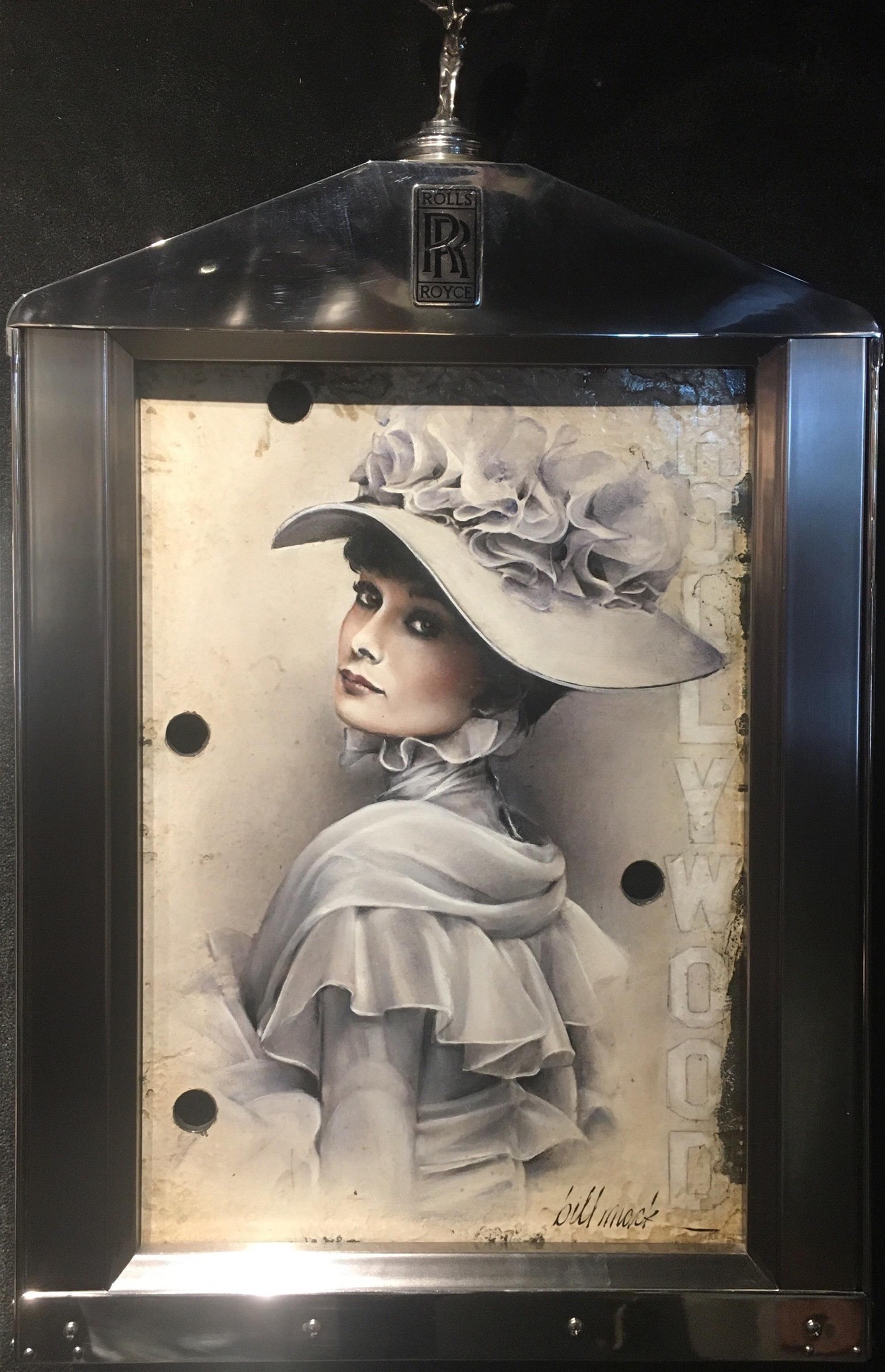 Audrey Hepburn- My Fair Lady by Bill Mack Hollywood Sign