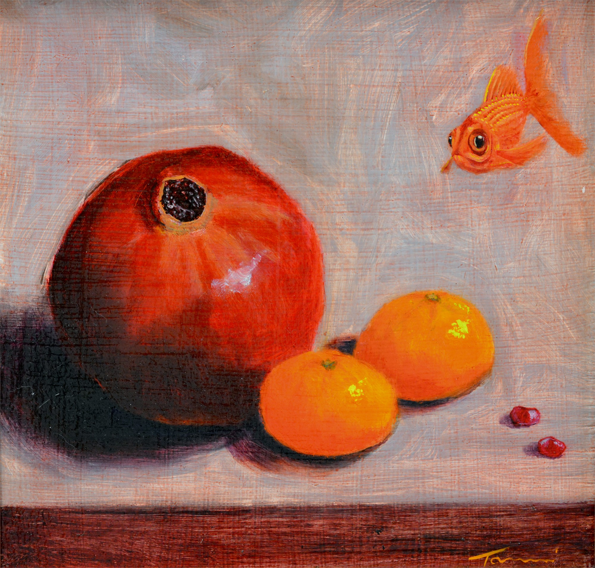 And Then I Ate the Fish by Tammi Otis