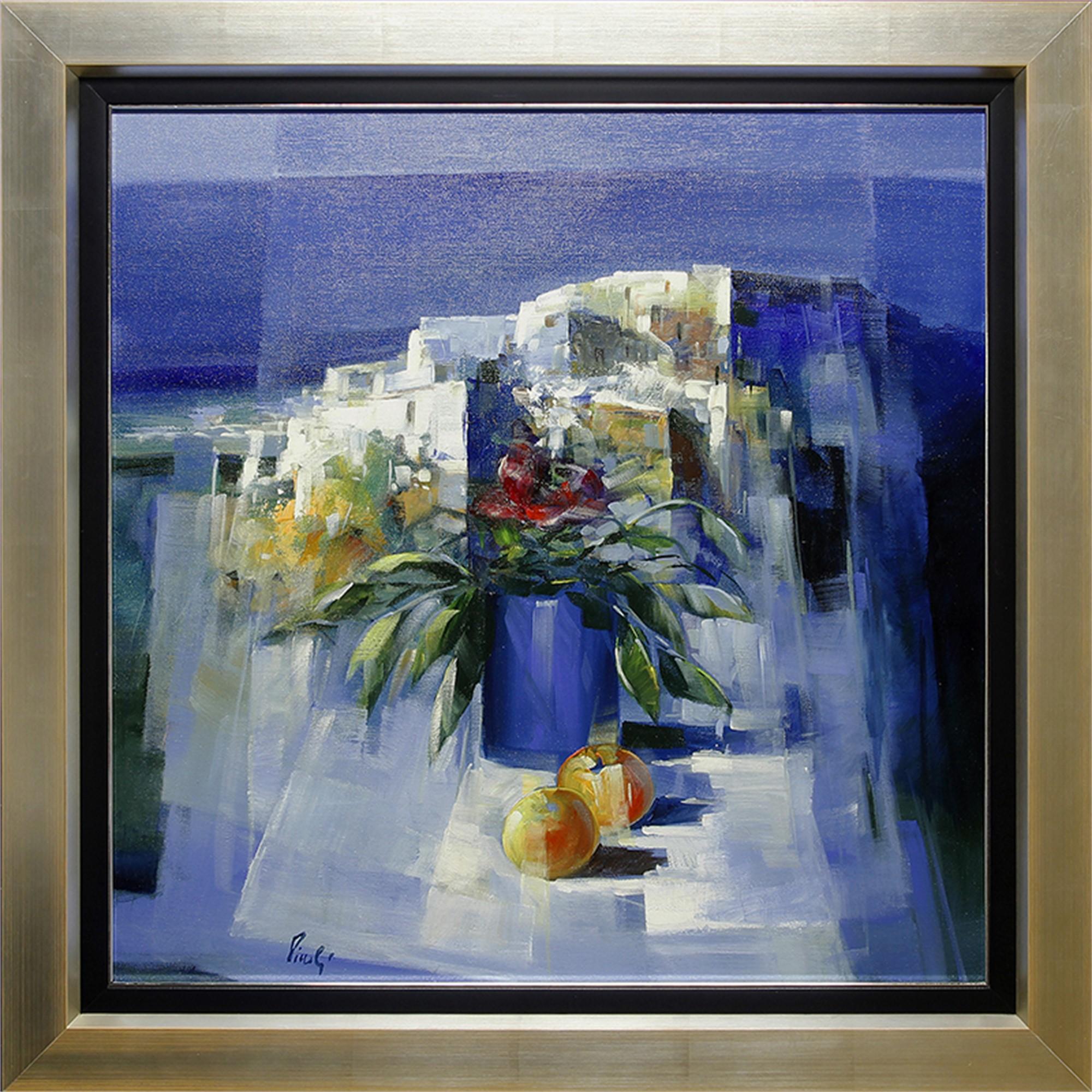 Paesaggio Con Fiori E Frutta  by Pietro Piccoli