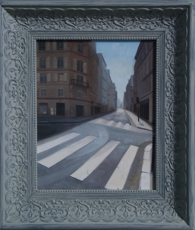 Paris Street 2 by Richard T Scott