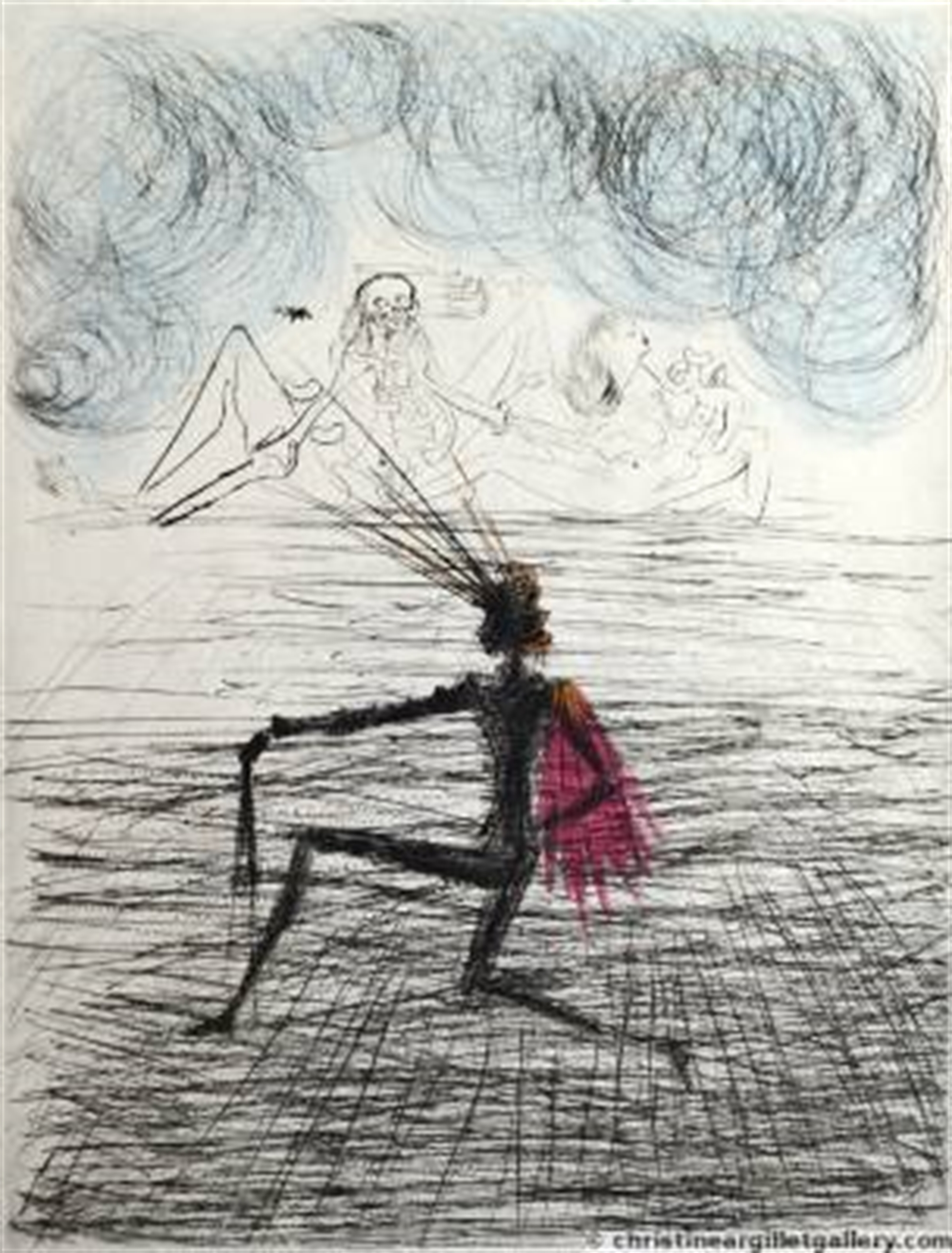 "Faust ""Kneeling Knight"" by Salvador Dali"