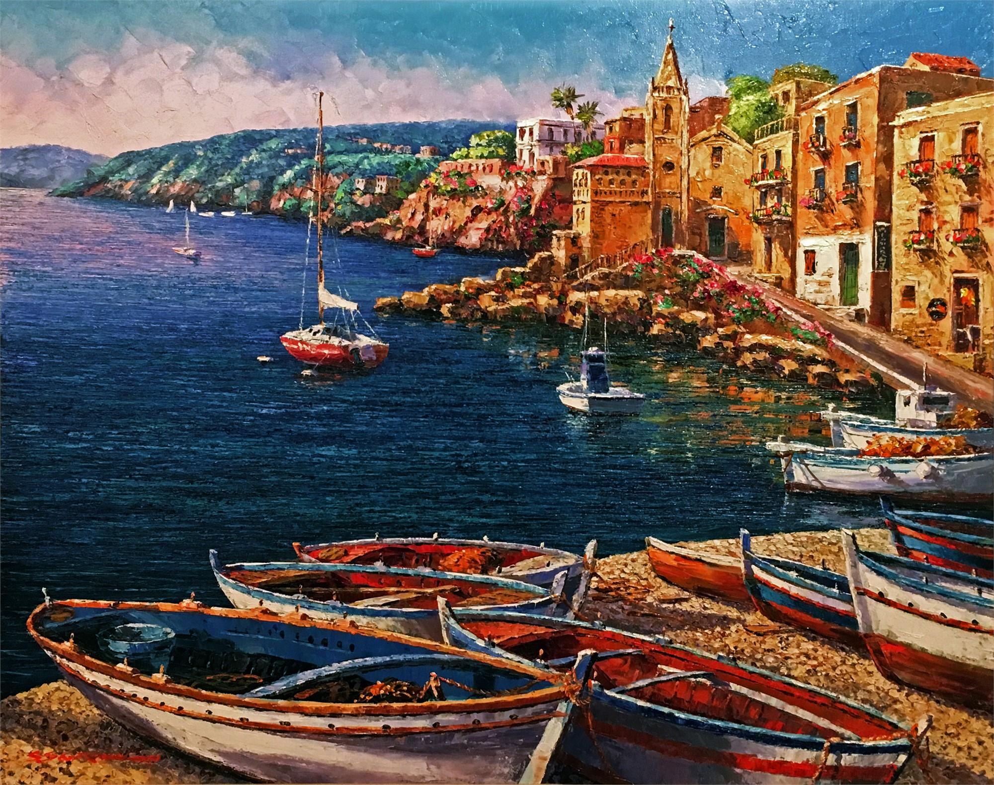 Lipari, Sicily by S. PARK