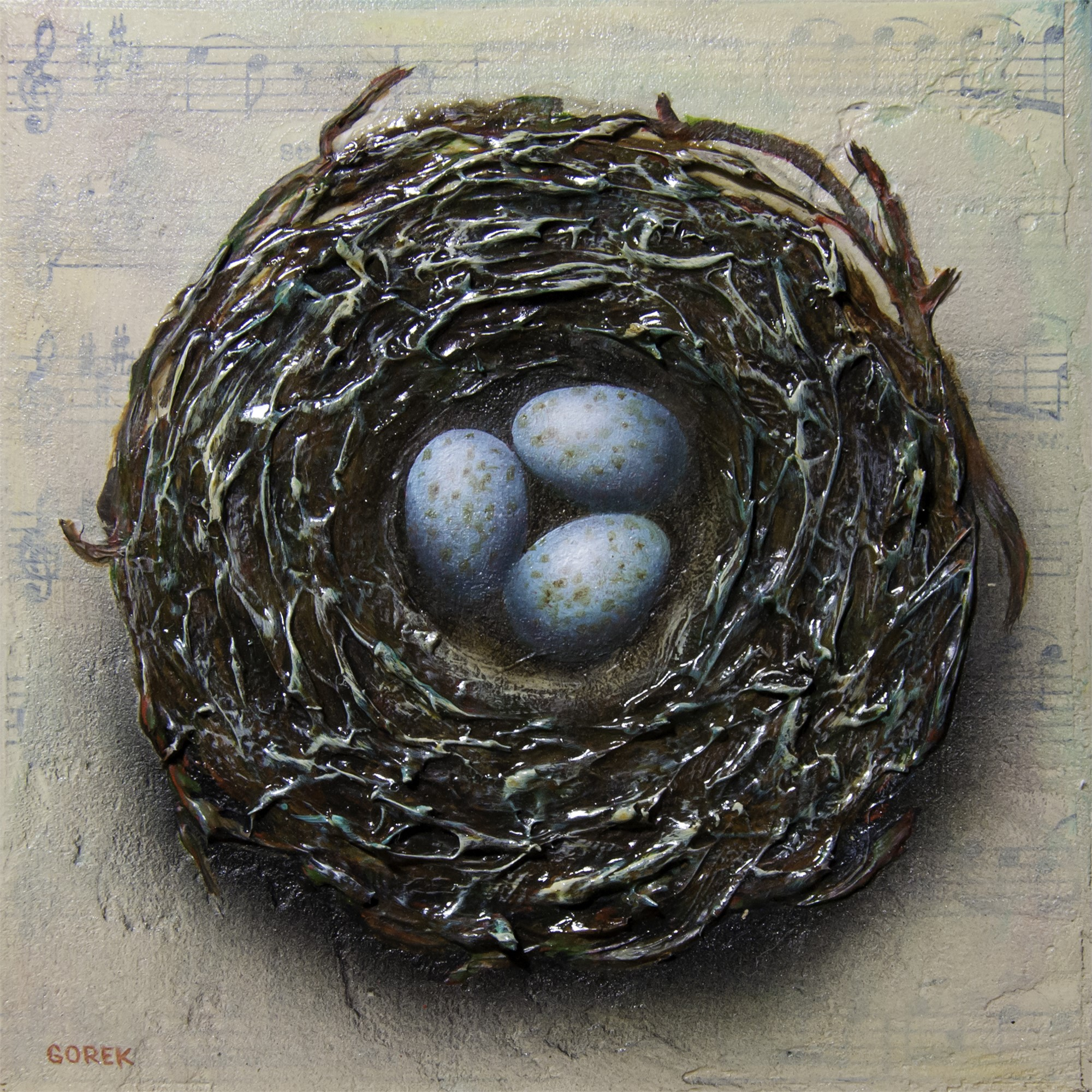 Birds Nest 3 by Thane Gorek