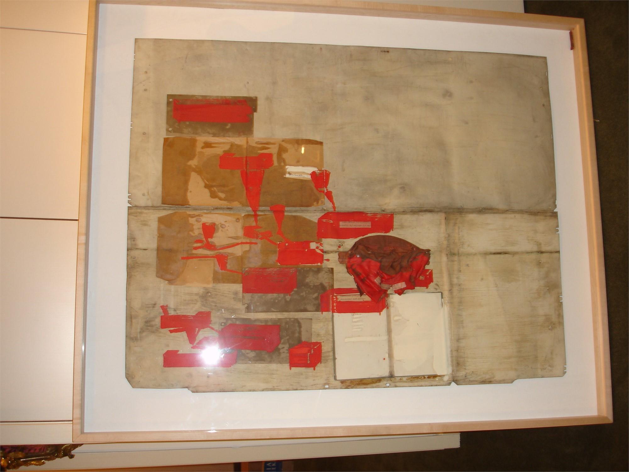 IM FLUSS DER ROTEN DINGE BY HEINZ (PETER) MAYER (AUSTRIAN, 1944-)