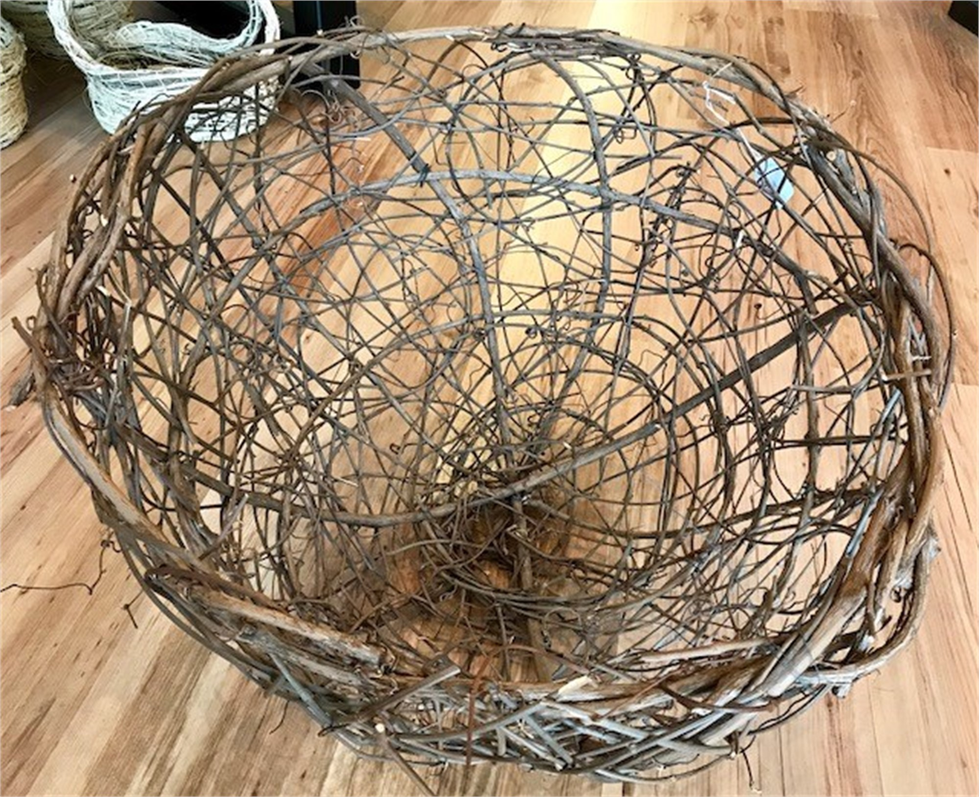 Grapevine Basket by Nancy Basket