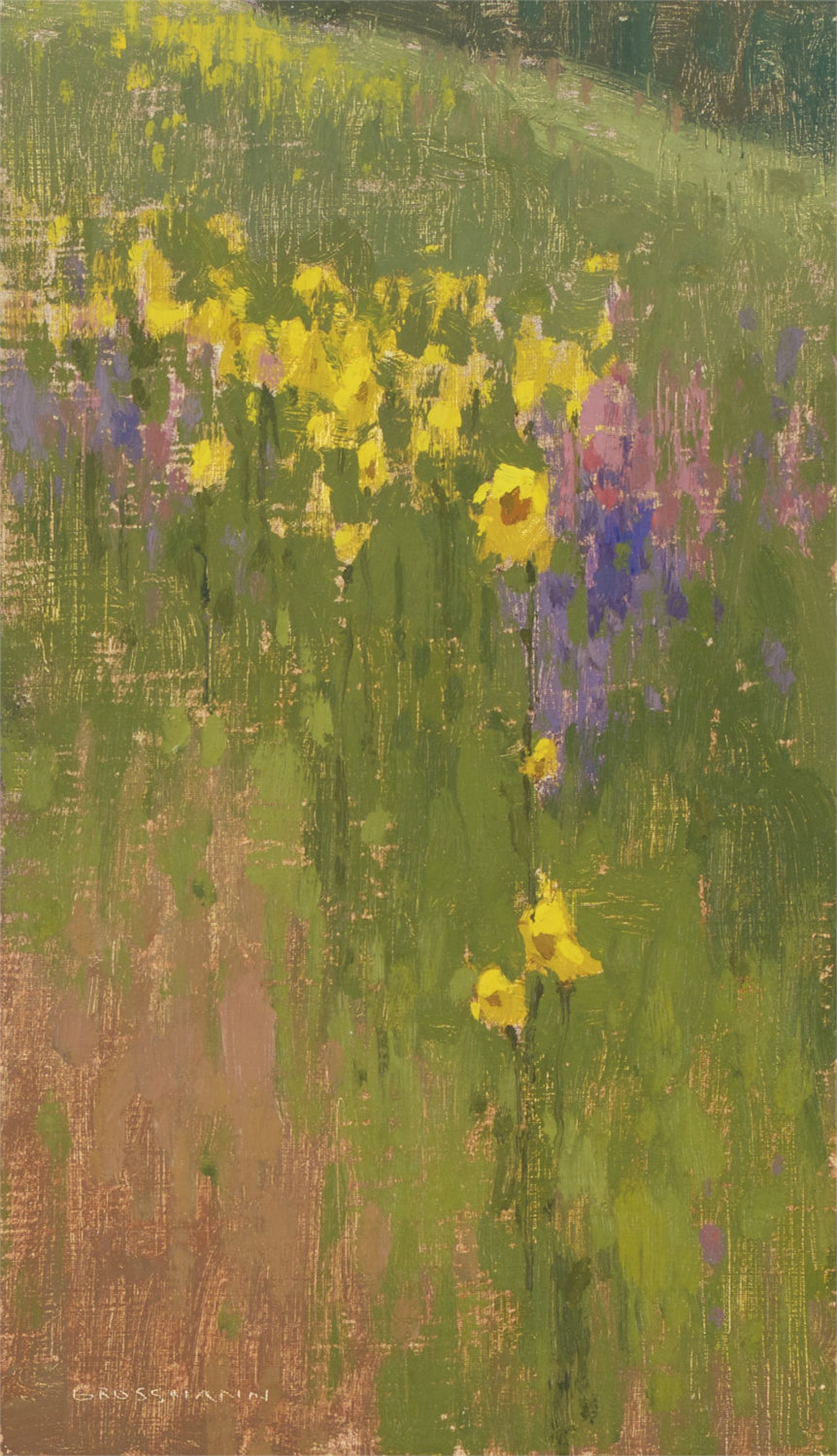 Wildflower Patterns I by David Grossmann