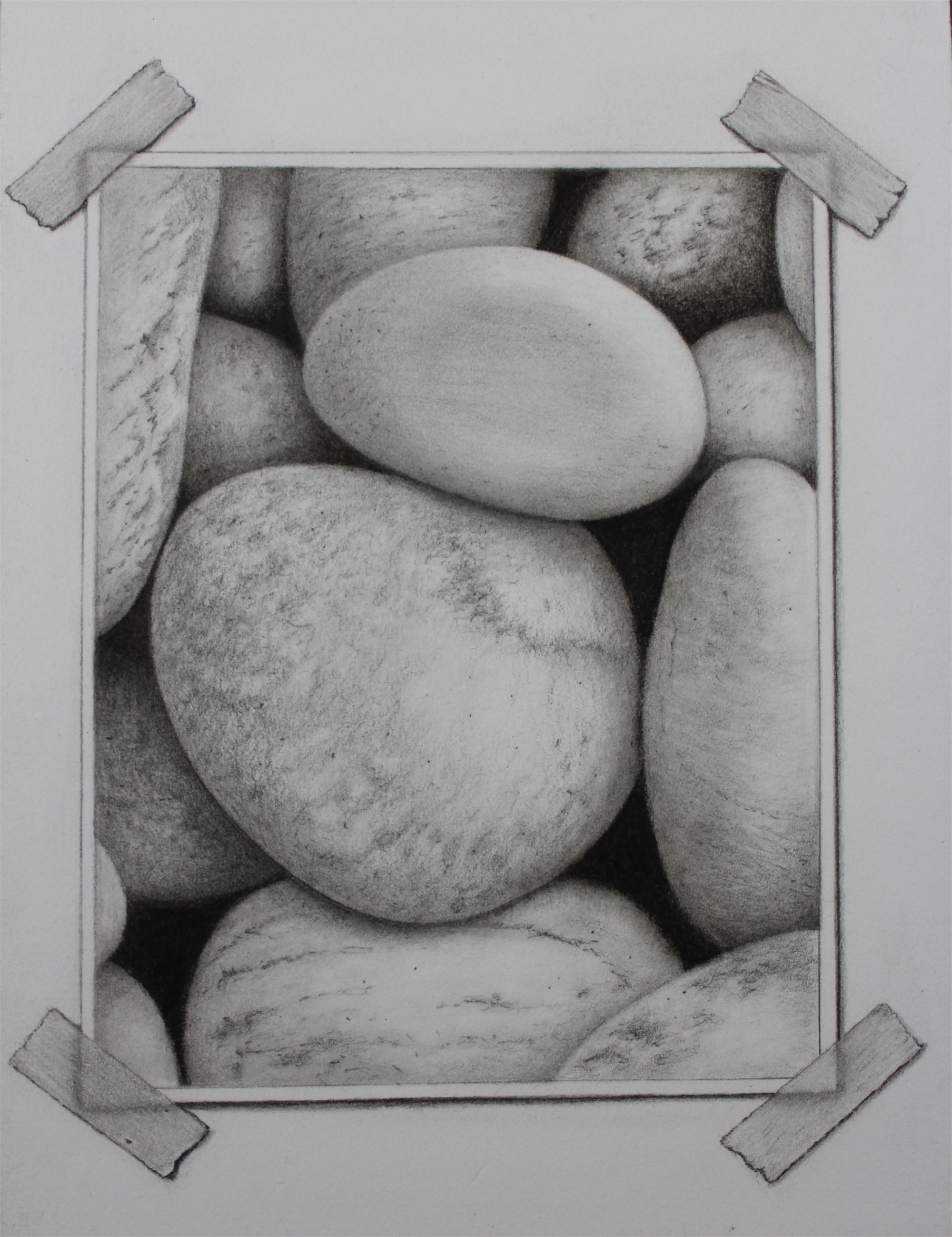 Snapshot Series: Rocks #2 by Tammy Liu-Haller