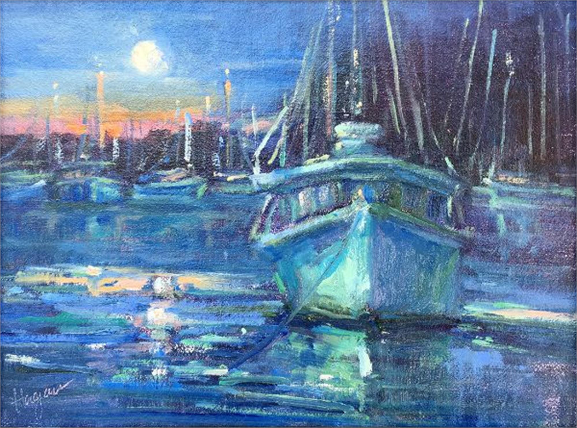 Moonlight in Abaco by Karen Hewitt Hagan
