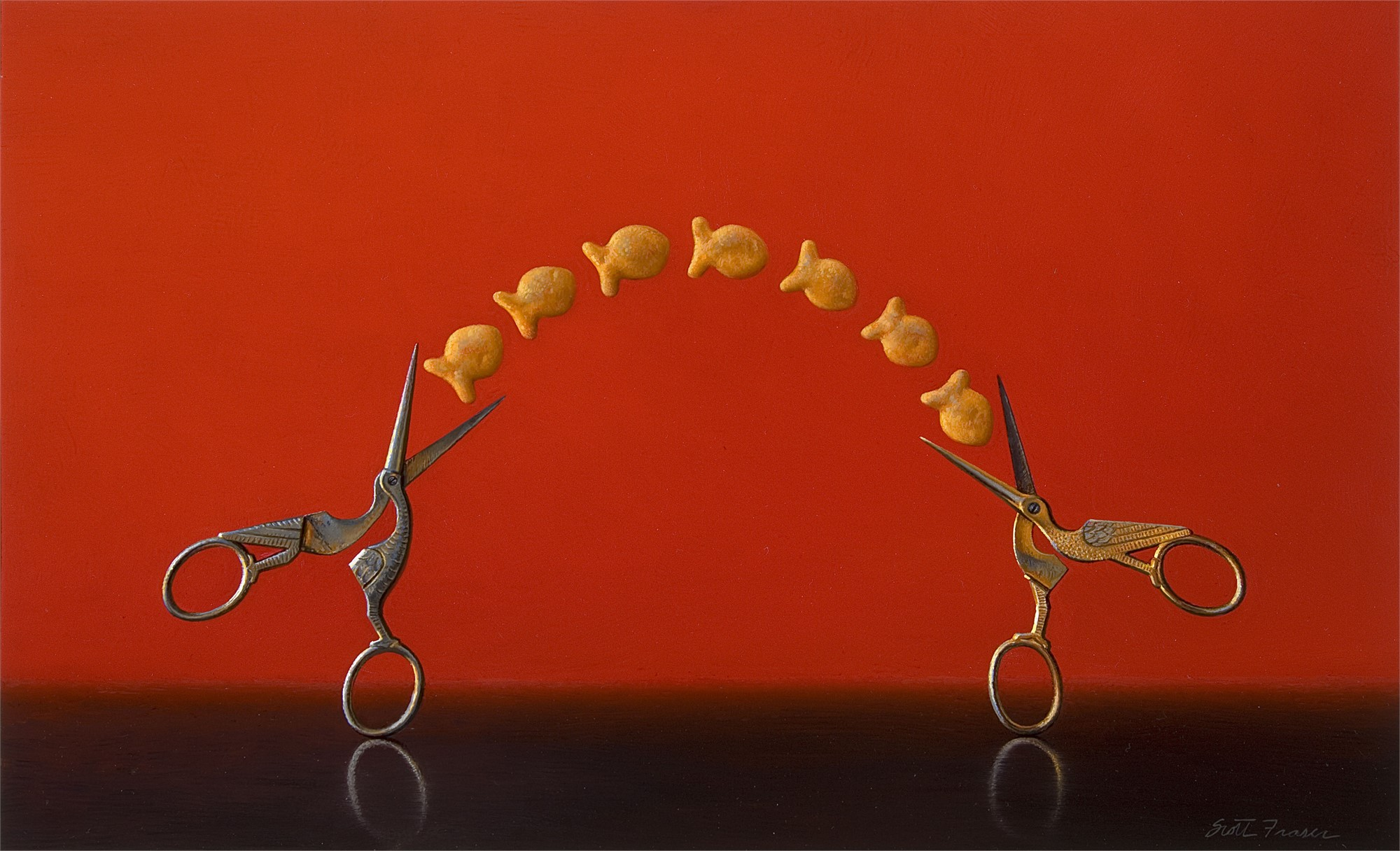 Two Storks by Scott Fraser
