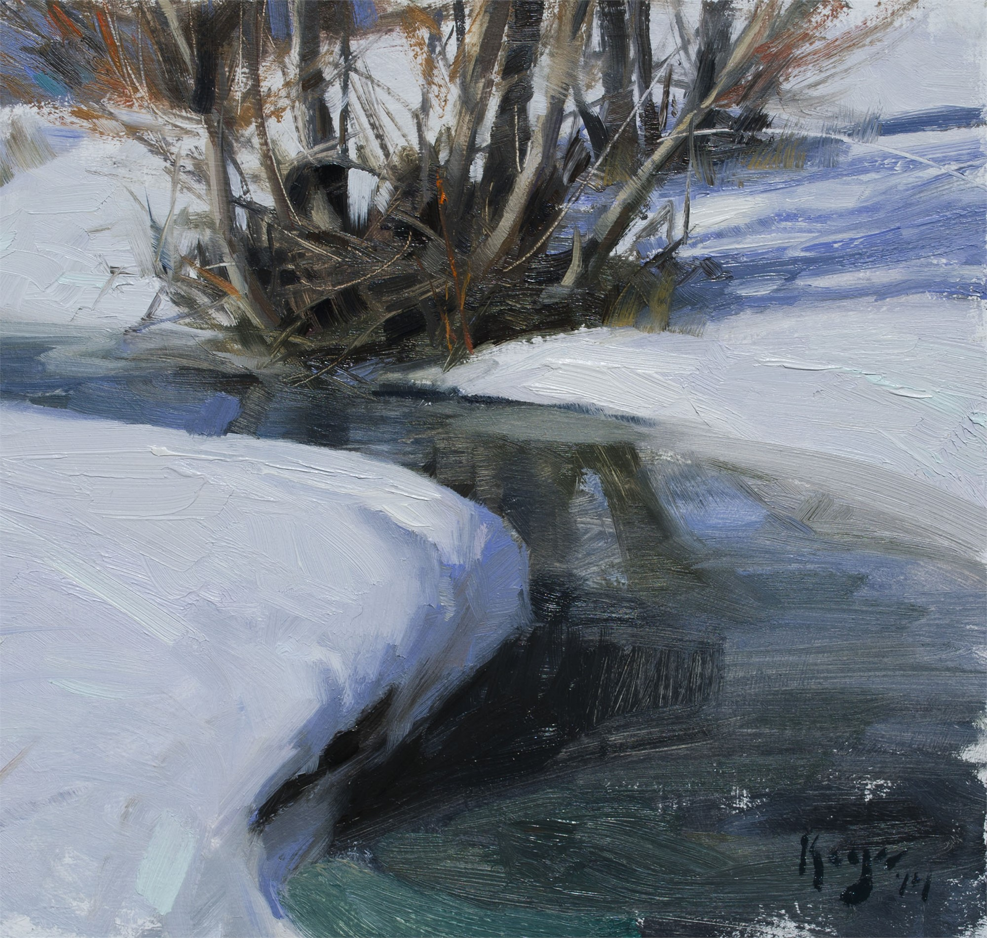 Thawing Stream by Daniel Keys
