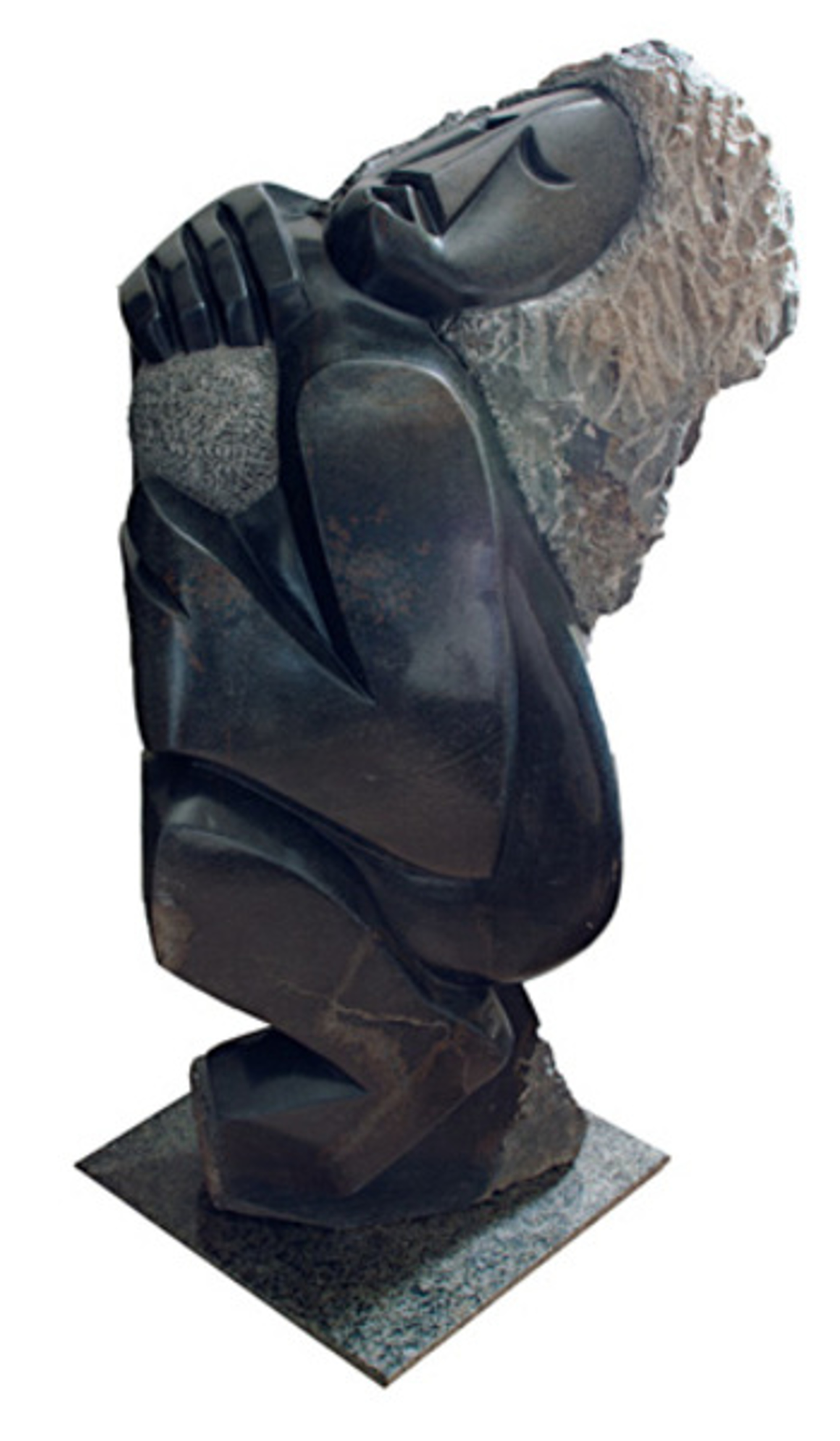 Joyful Bowler by Felix Mlungisi - African (Shona)