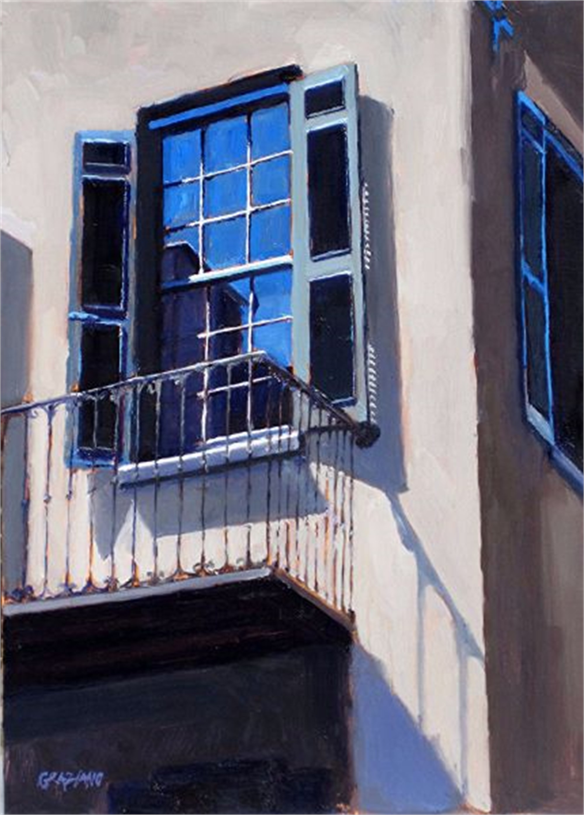 Charleston Balcony by Dan Graziano
