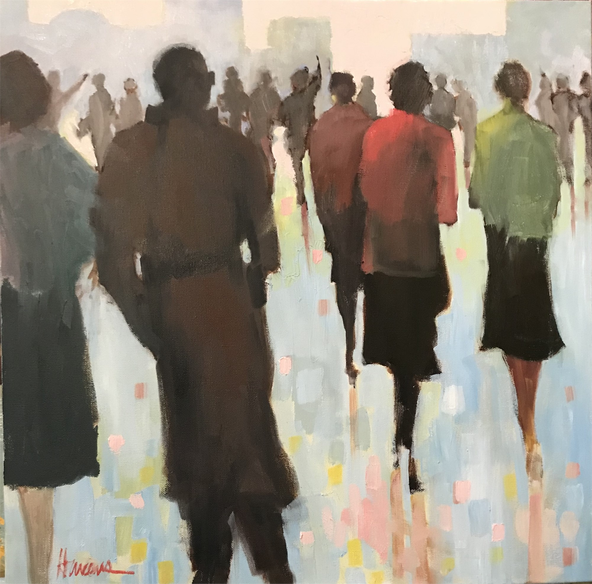Afternoon on the Plaza by Betsy Havens
