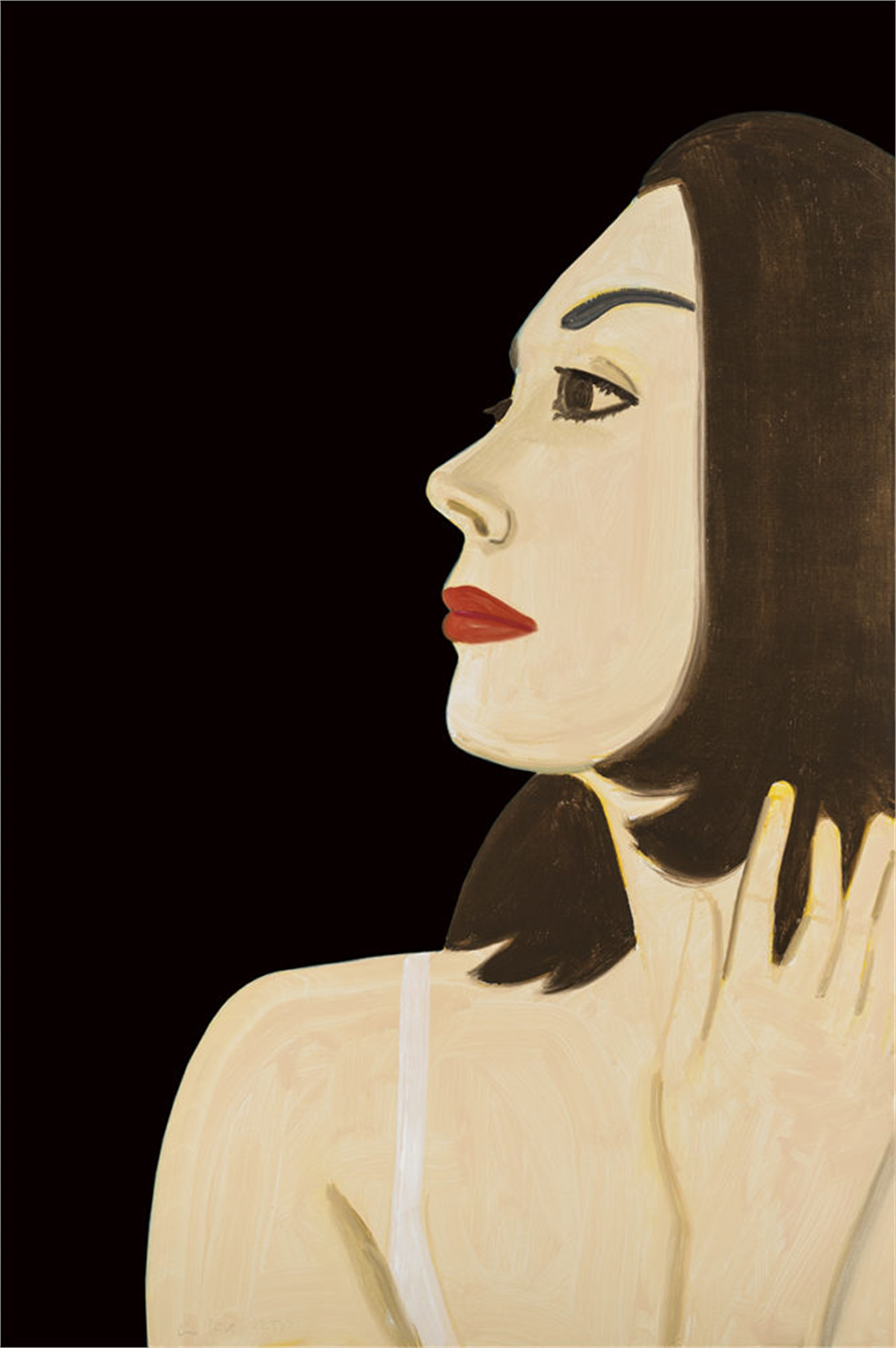 Laura 1 by Alex Katz