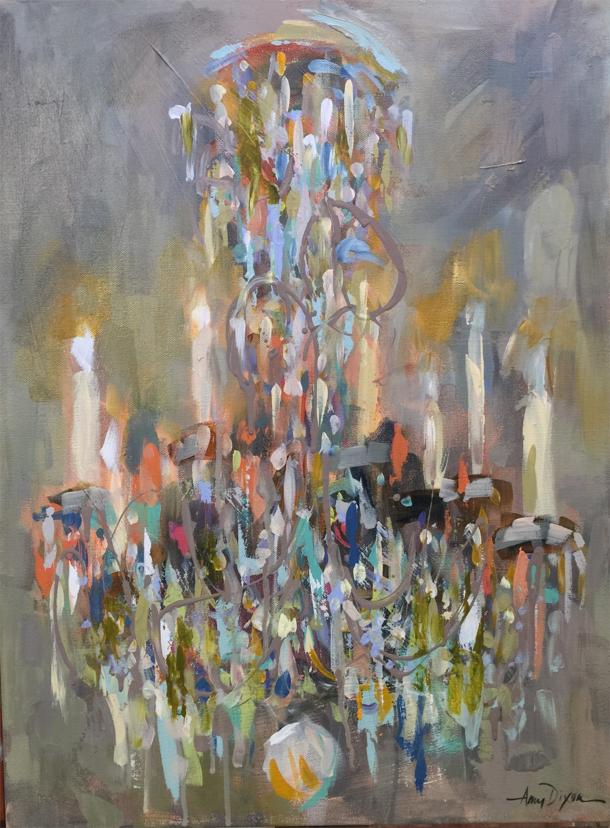 Swinging From the Chandelier by Amy Dixon
