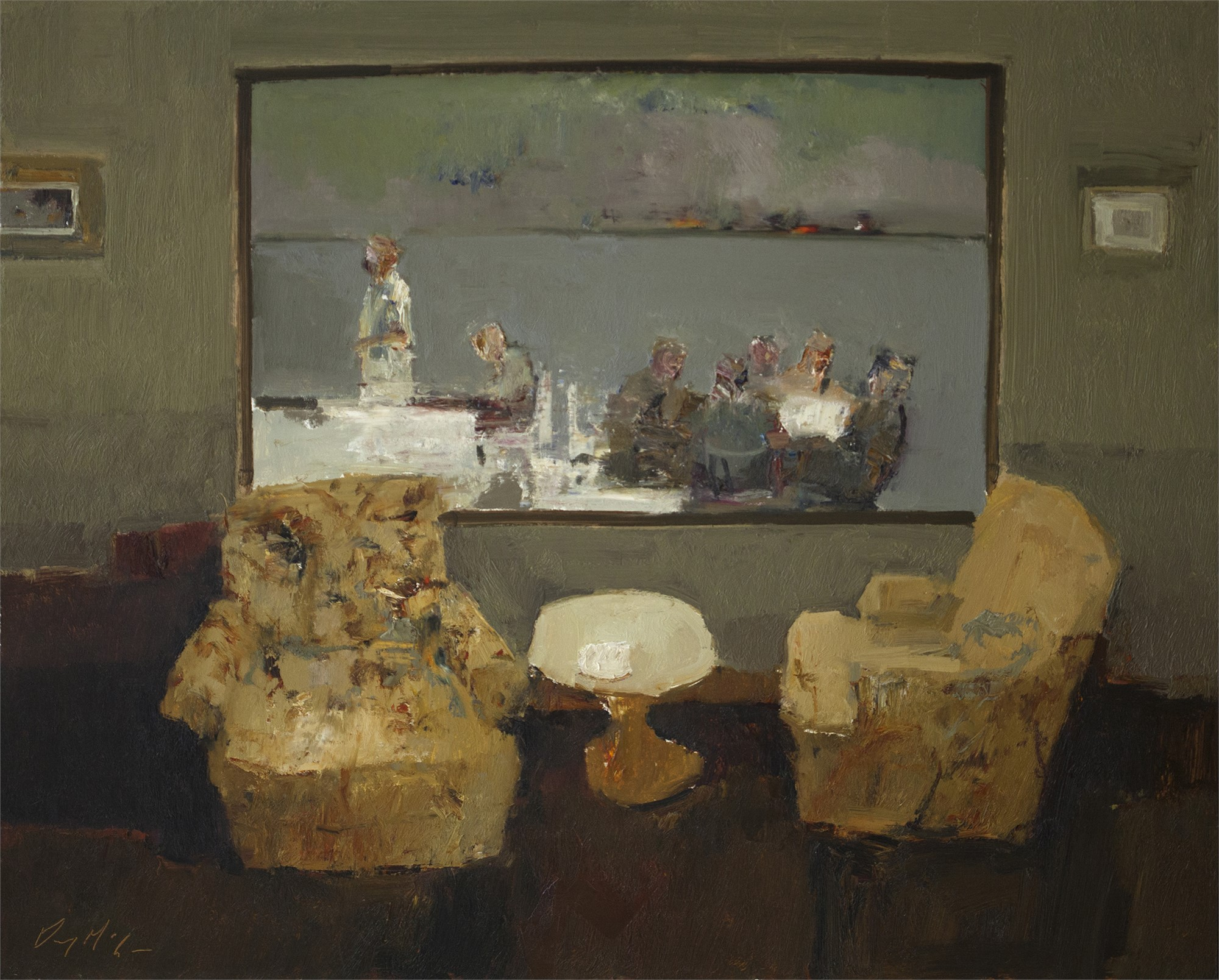 Window Seat by Danny McCaw