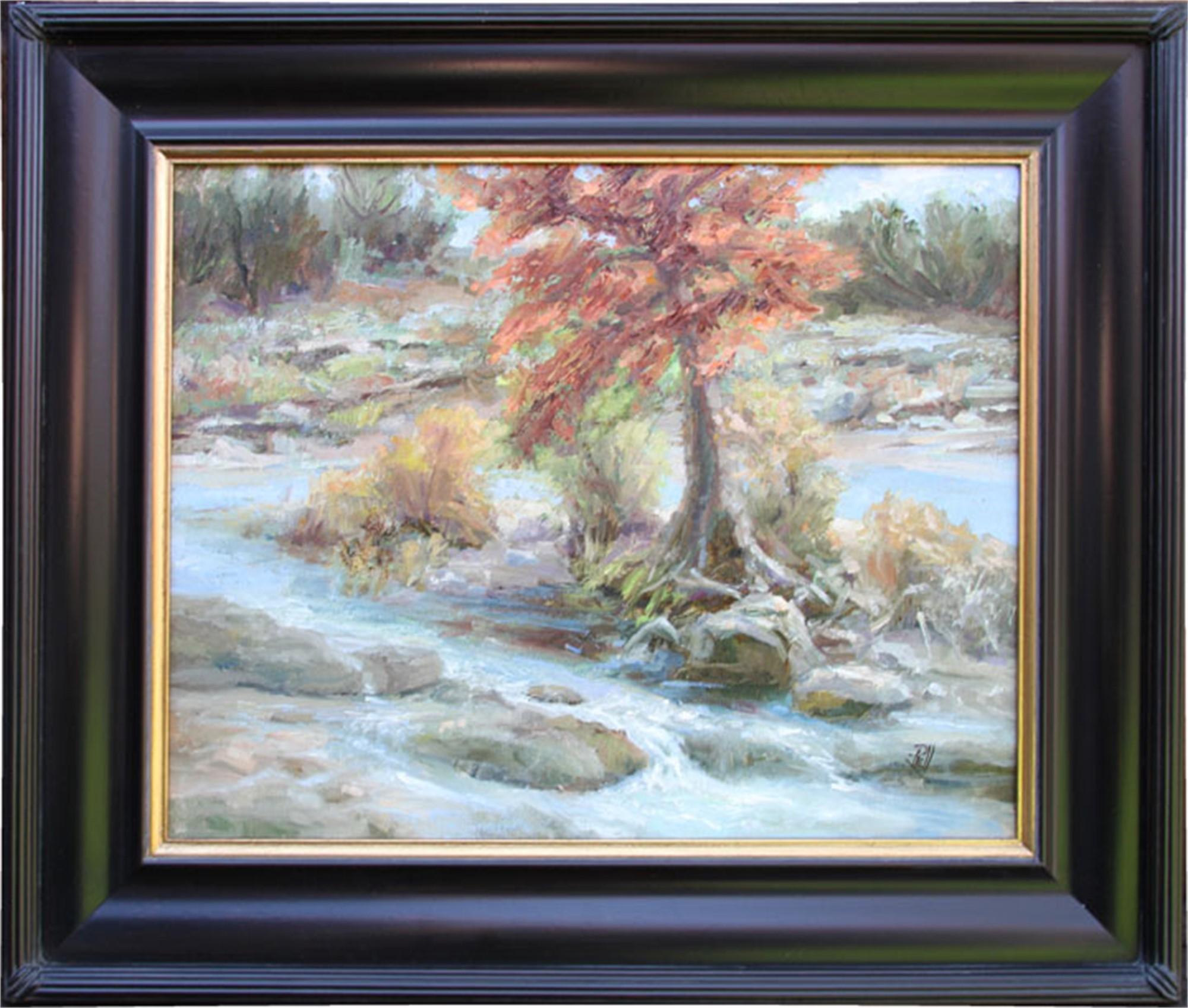Little Cypress Near Little Arkansas on the Blanco by Lilli Pell