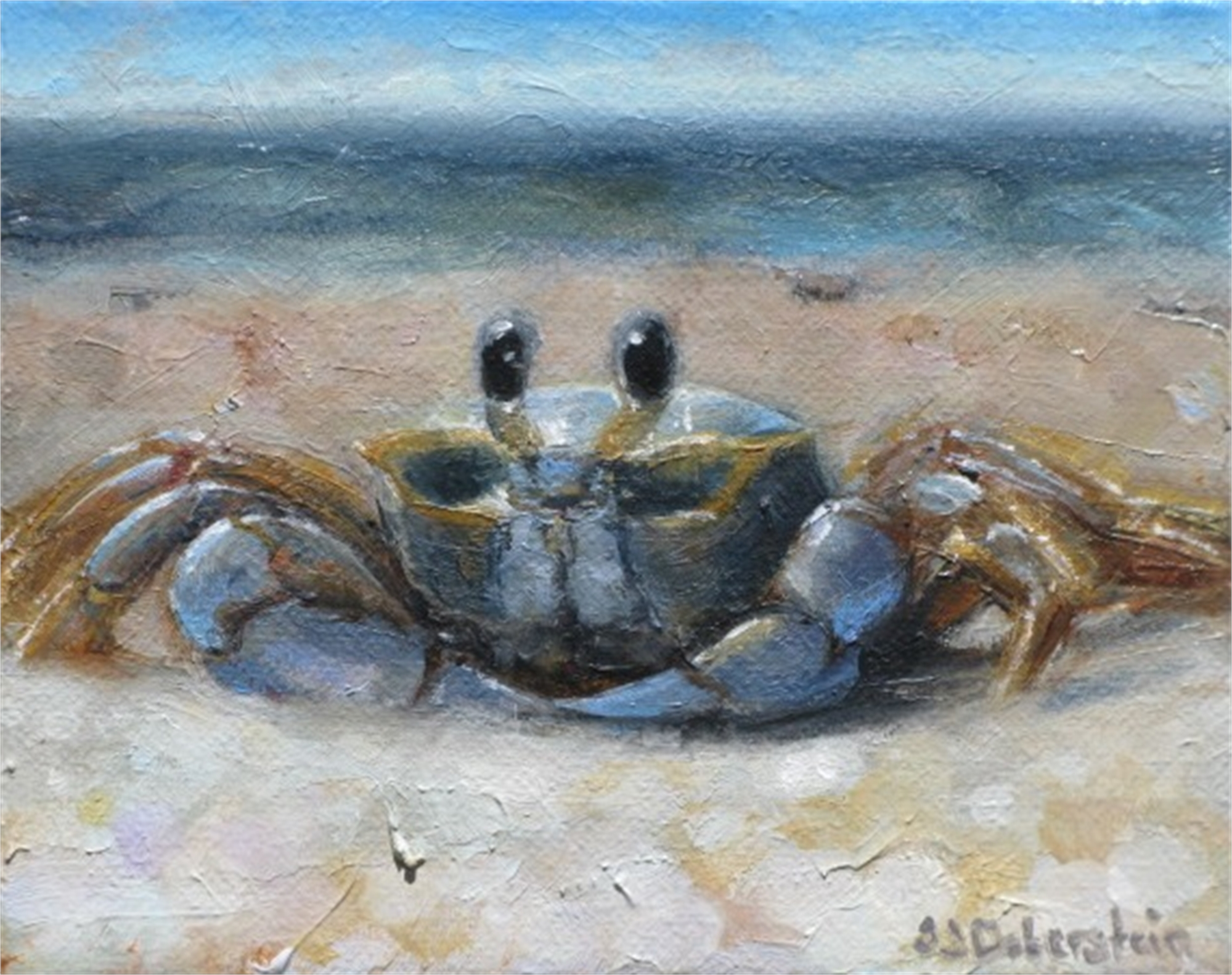 Ghost Crab by SaraJane Doberstein