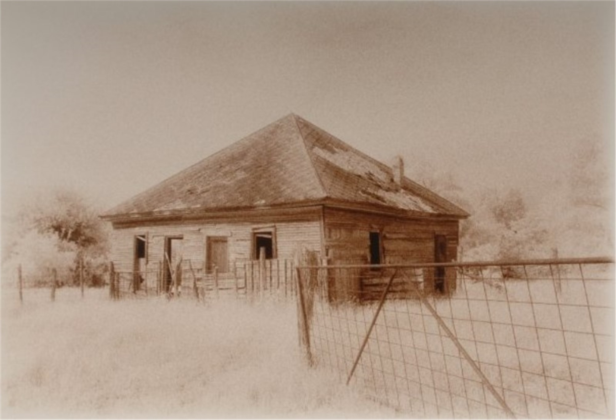 Dawson, Navarro County Texas by Tommy LaVergne