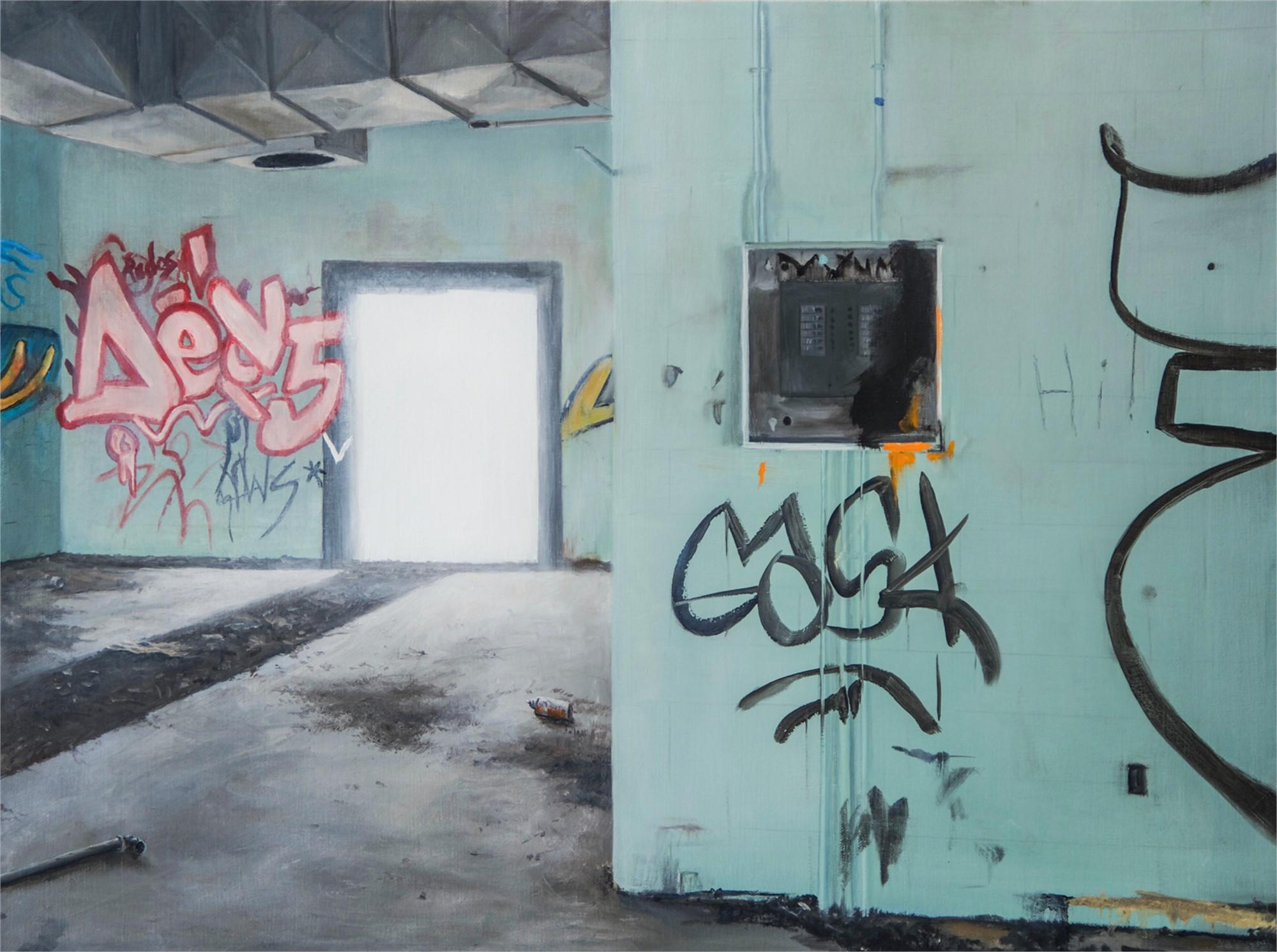 deserted interior by Robert Bissell