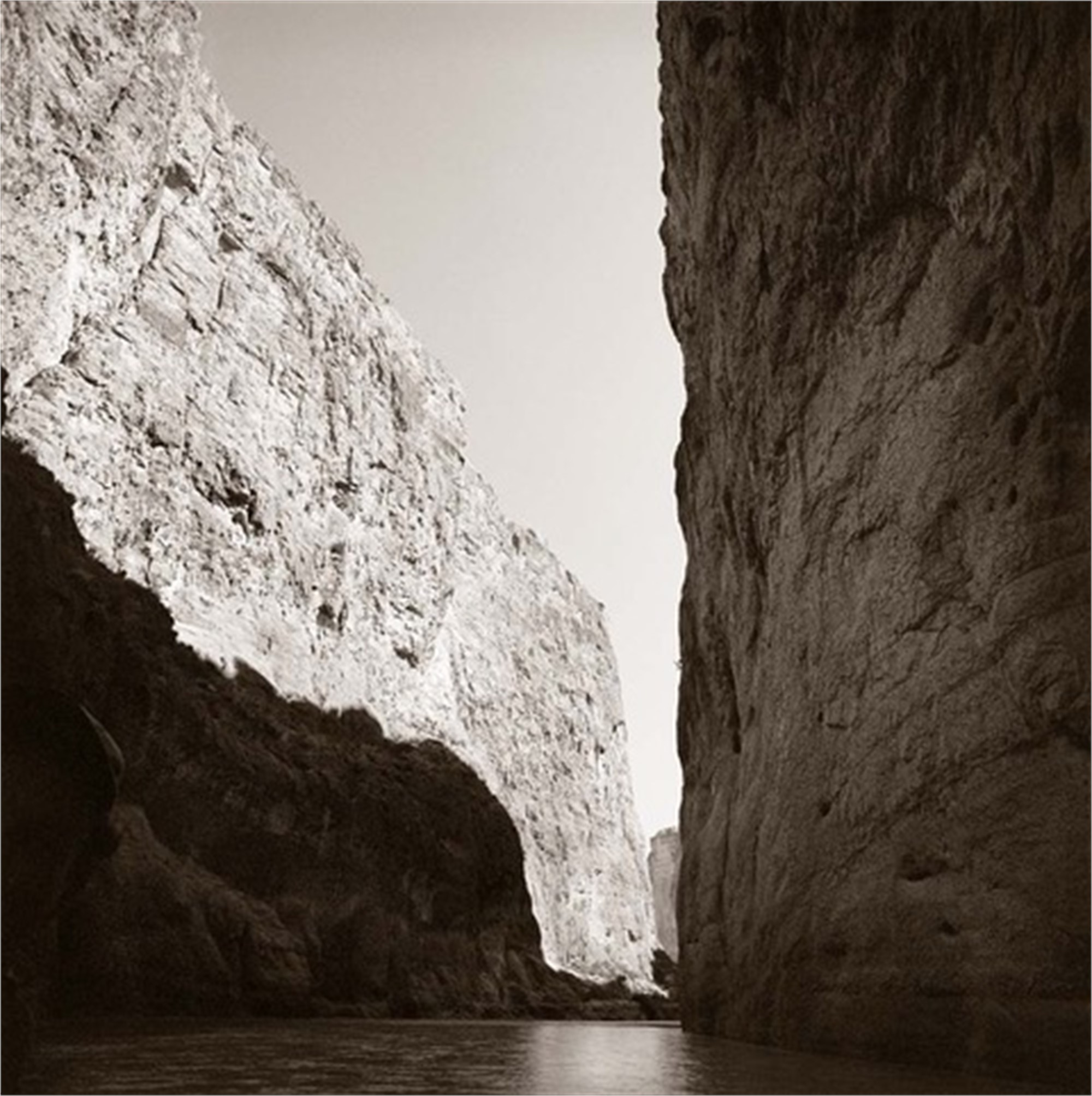 Santa Elena Canyon, Mouth of the Canyon by James H. Evans