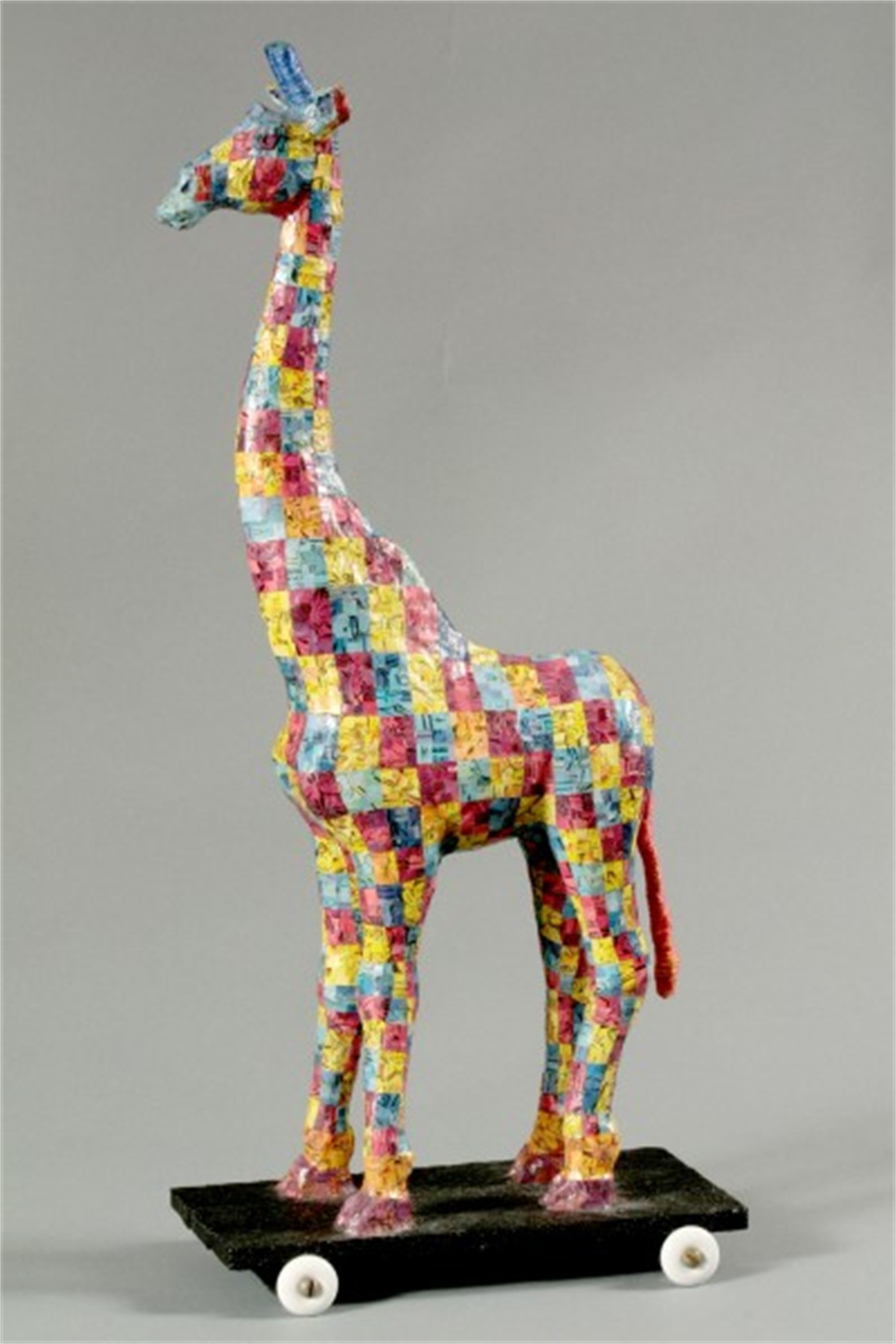 Giraffe Pull-Toy by Martha Shade